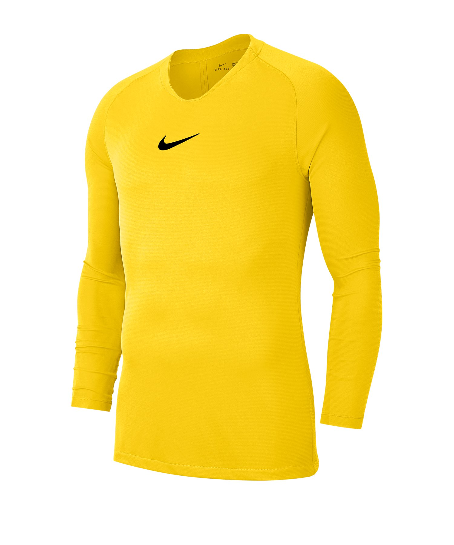 Nike Park First Layer Top langarm Gelb F719 - gelb