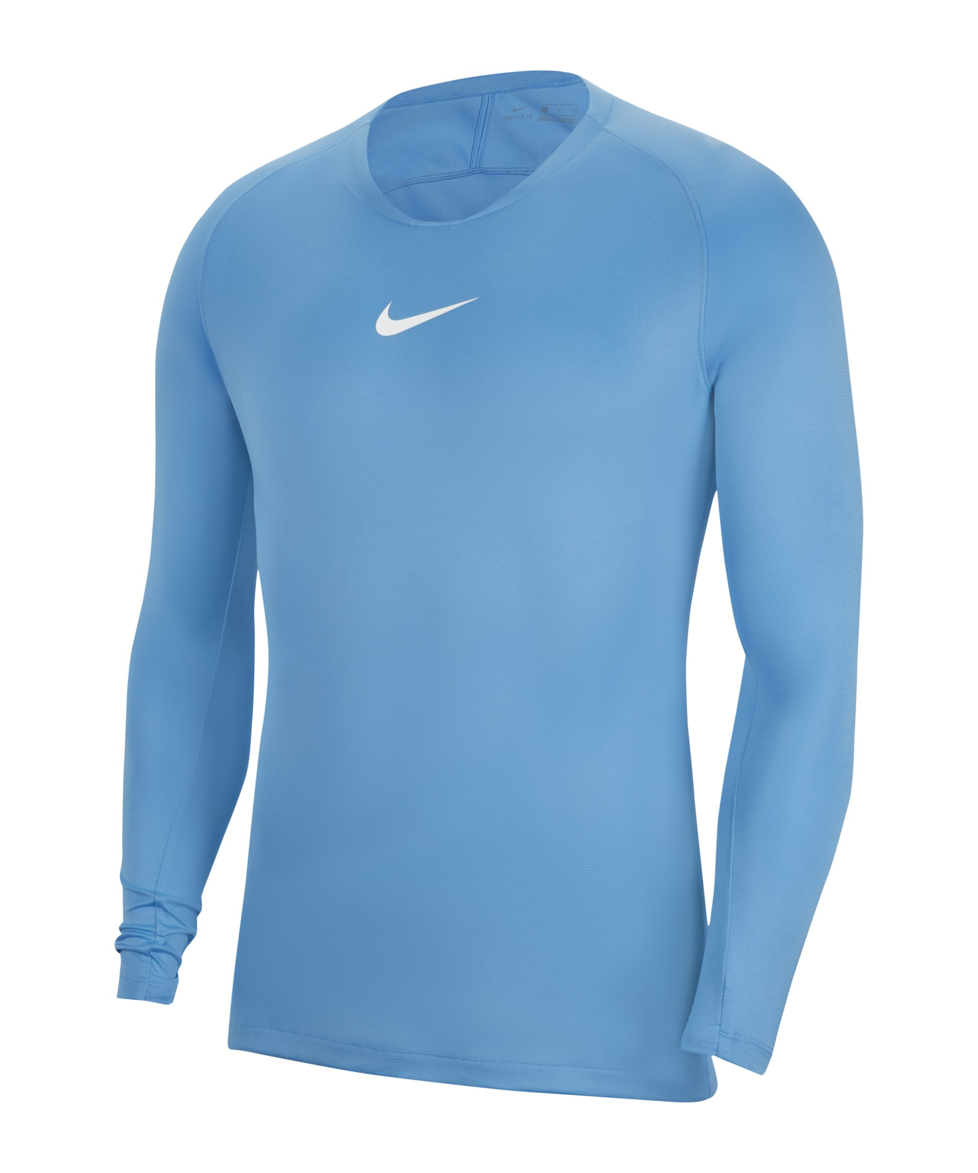 Nike Park First Layer Top langarm Hellblau F412 - blau