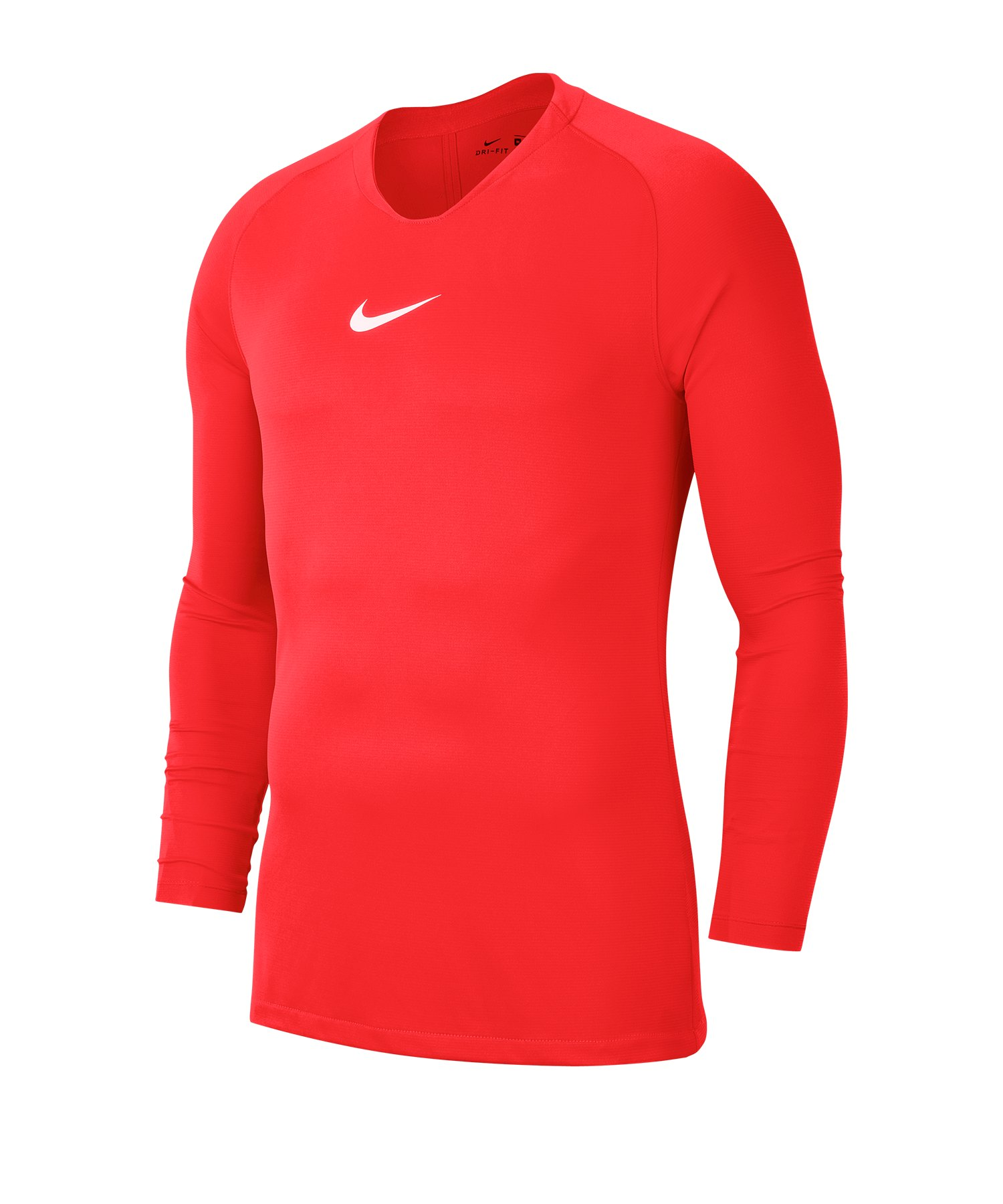 Nike Park First Layer Top langarm Rot F635 - rot