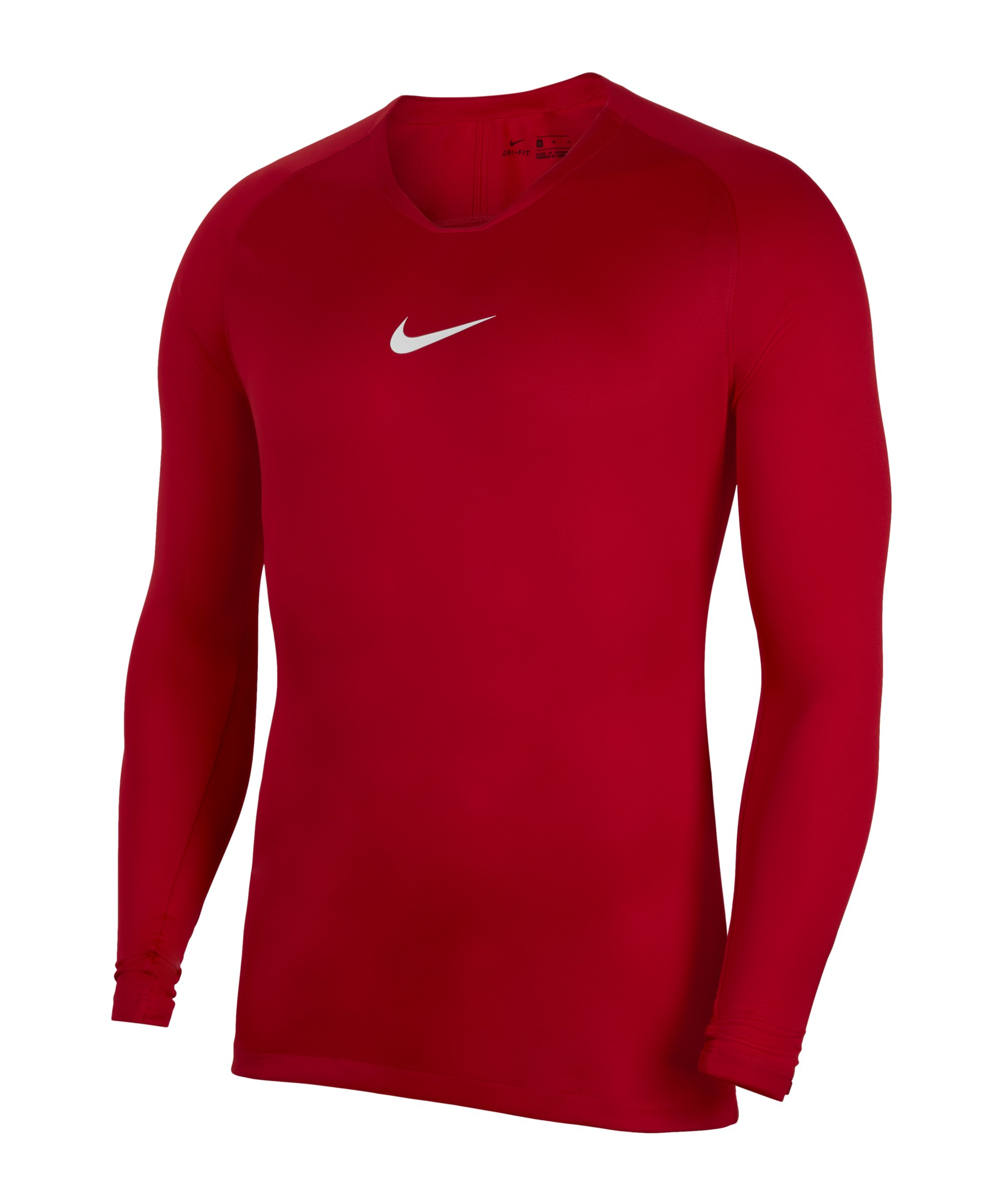 Nike Park First Layer Top langarm Rot F657 - rot