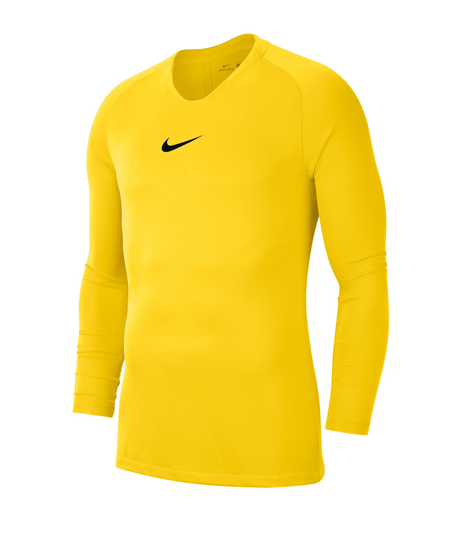 Nike Park First Layer Top langarm Kids Gelb F719 - gelb