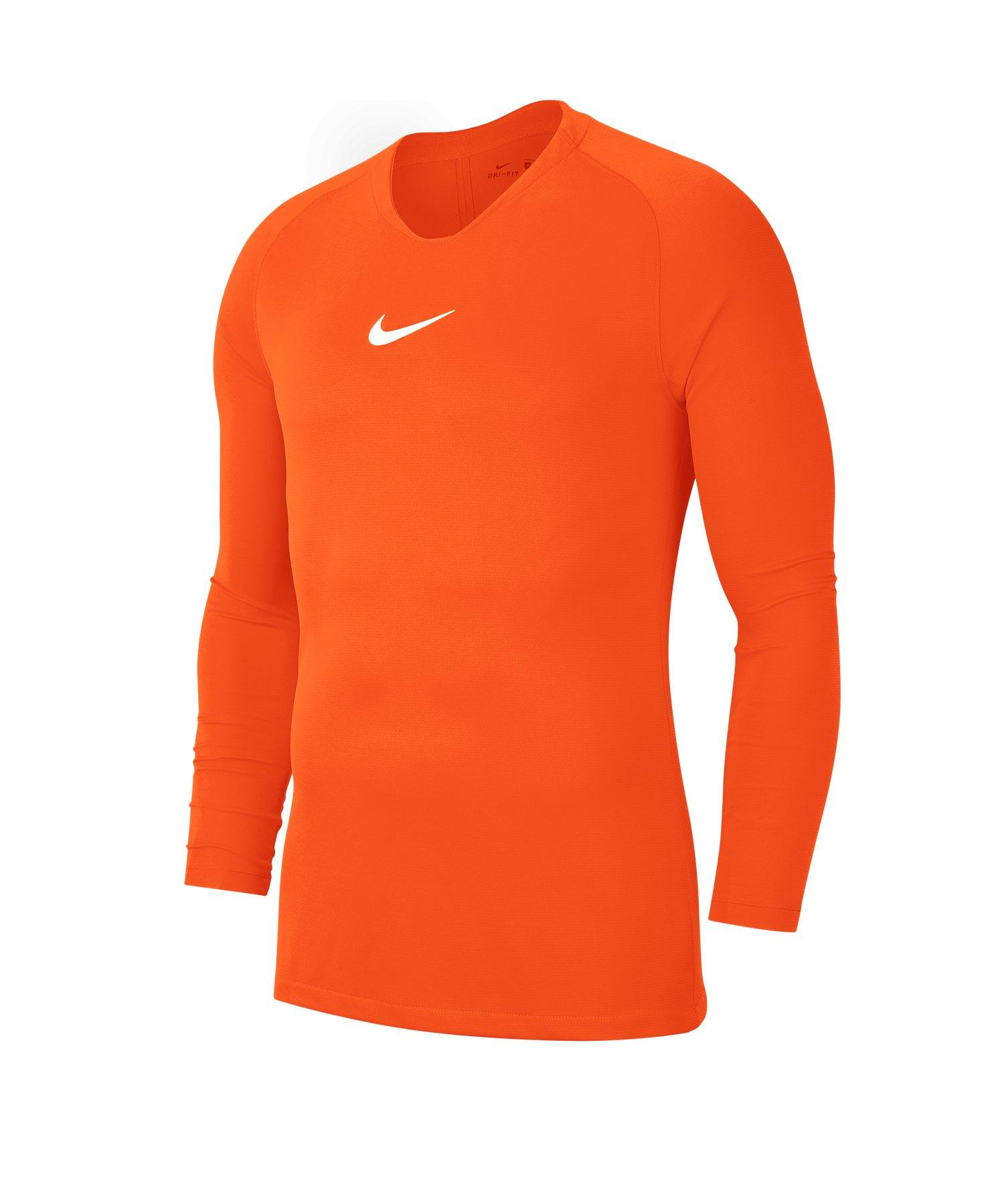 Nike Park First Layer Top langarm Kids Orange F819 - orange