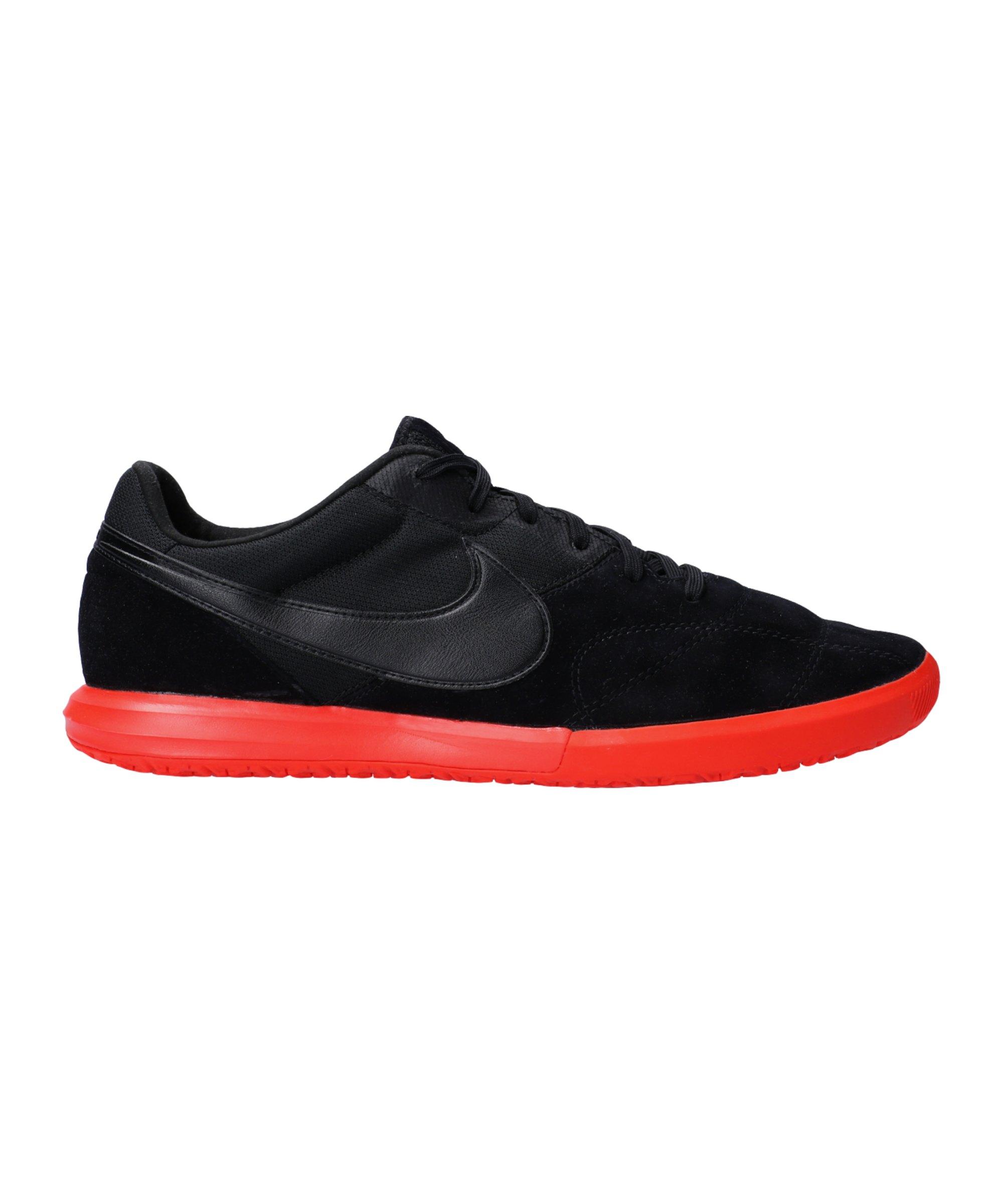 Nike Premier II Sala Home Crew IC Schwarz F060 - schwarz