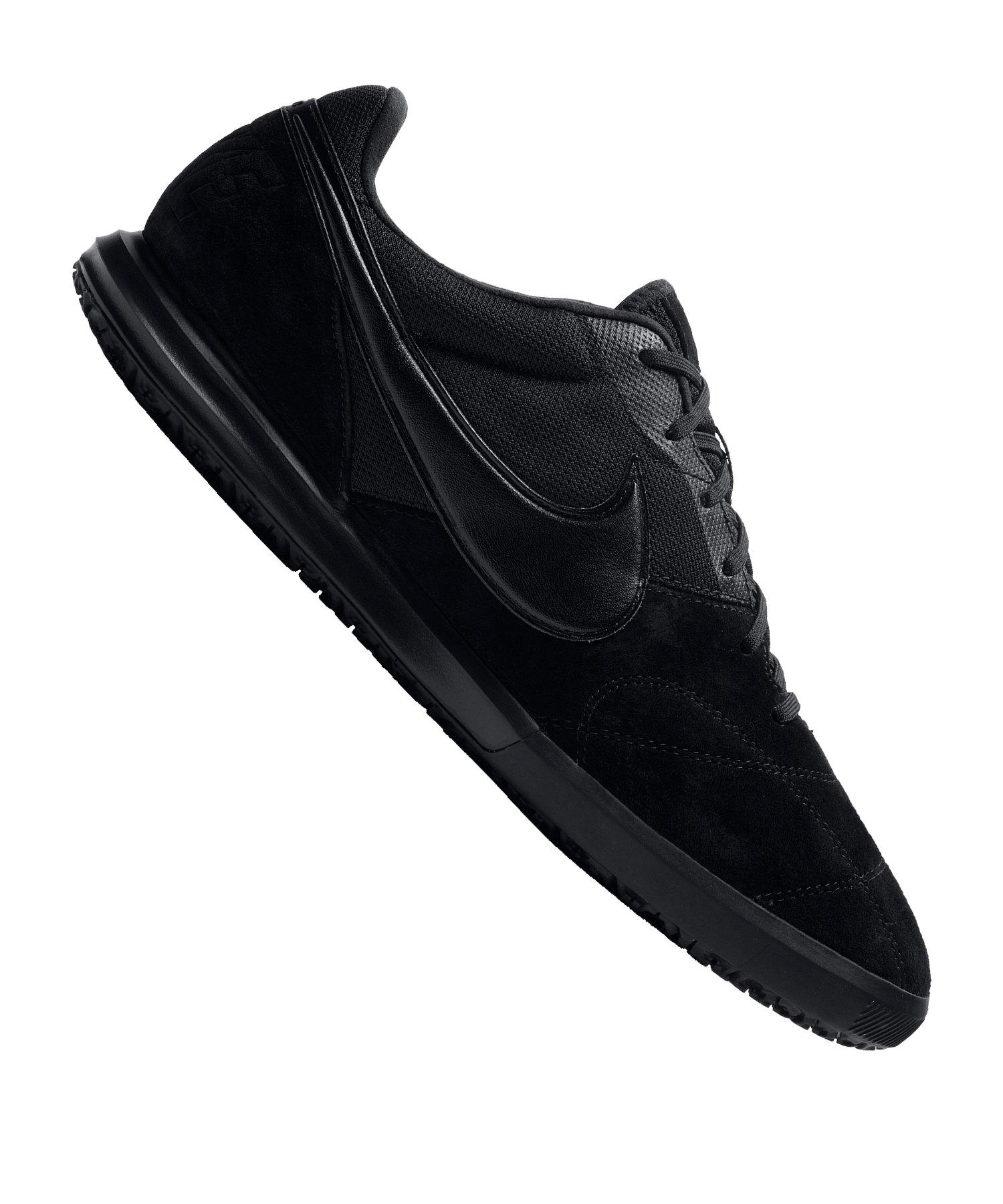 Nike Premier II Sala IC Schwarz F011 - schwarz