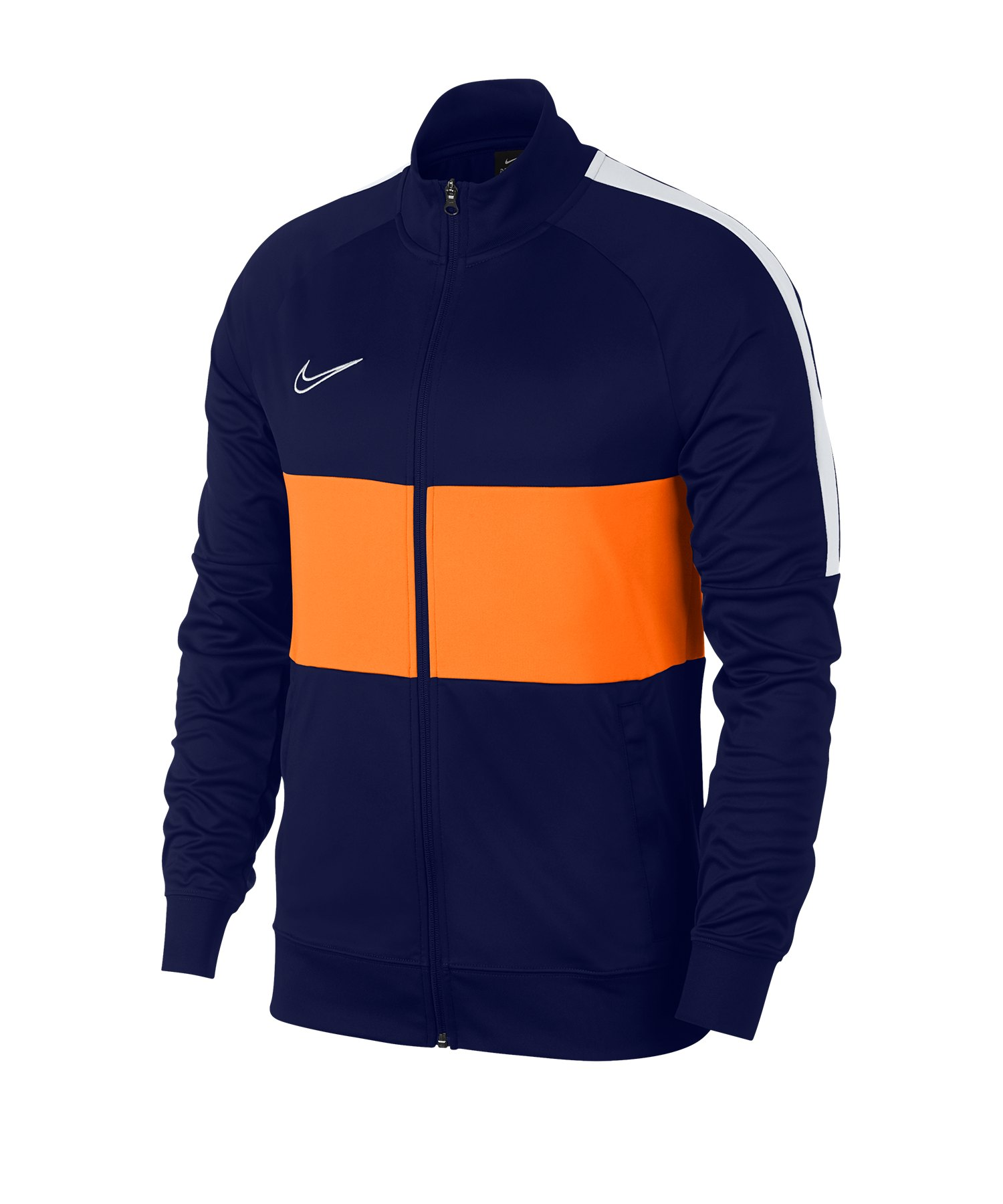 Nike Academy Dri-FIT Jacke Blau Orange F492 - Blau