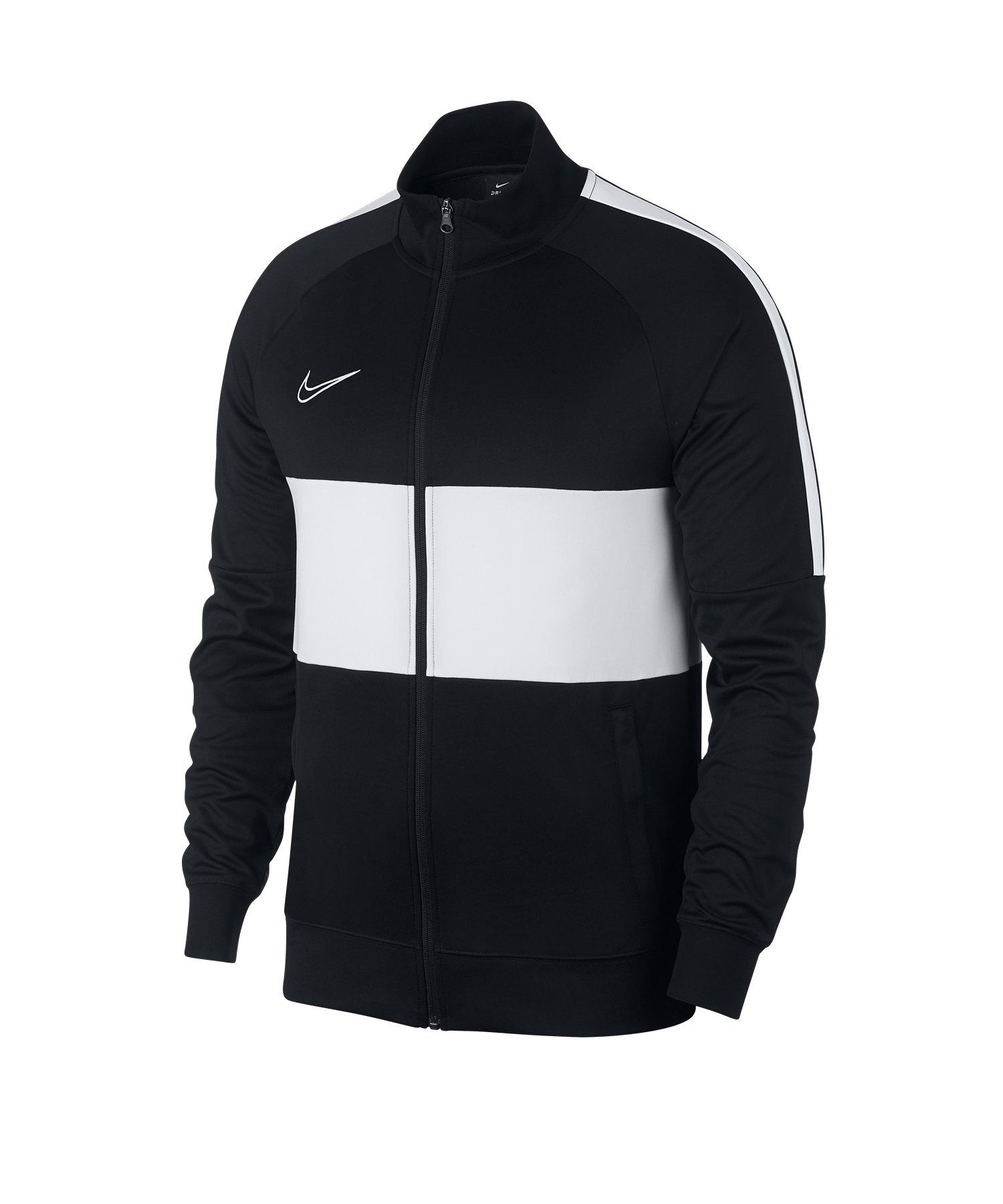 Nike F.C Academy Dri-FIT Jacke Schwarz Weiss F010 - schwarz
