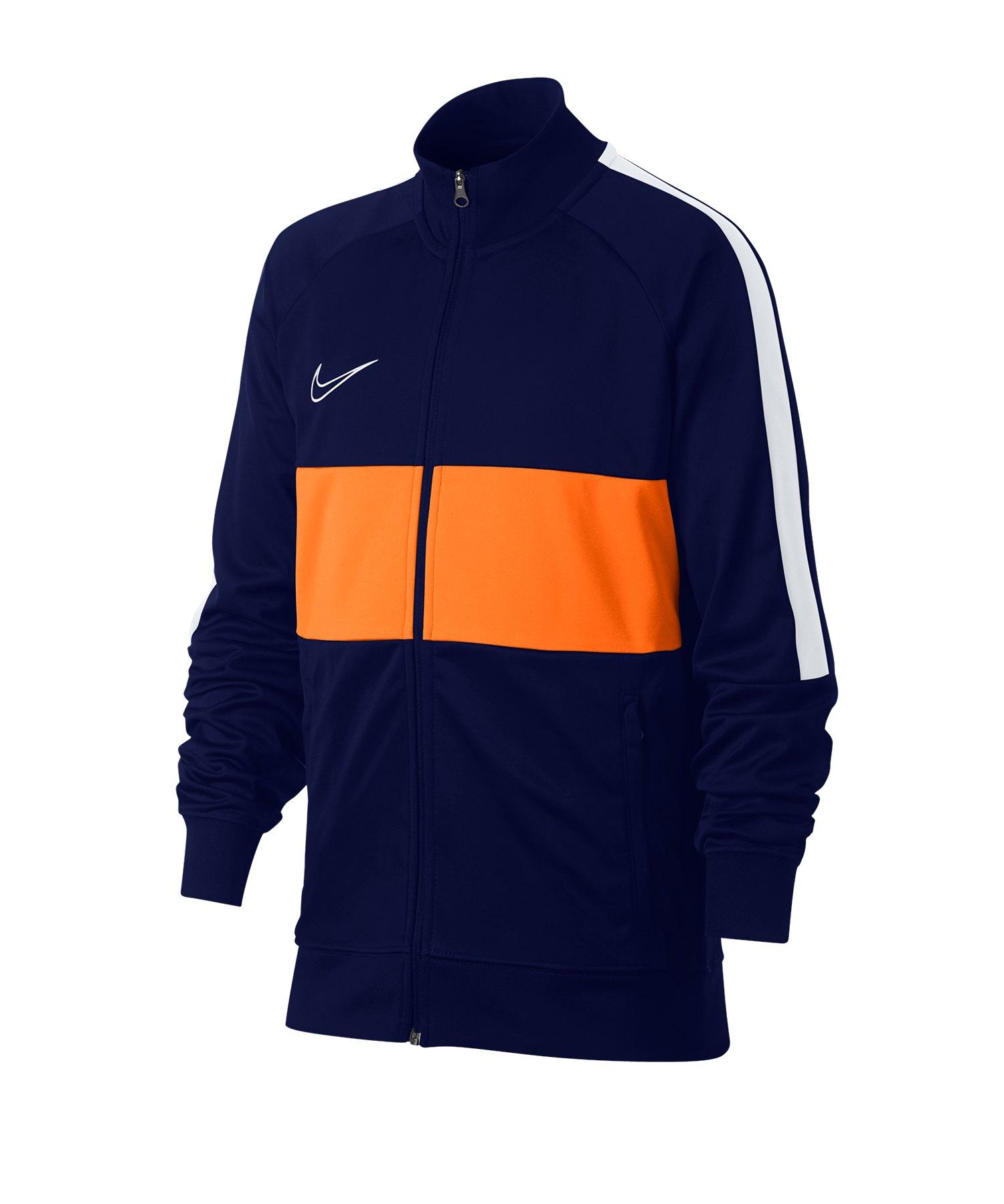 Nike Academy Dri-FIT Jacke Kids Blau Orange F492 - Blau