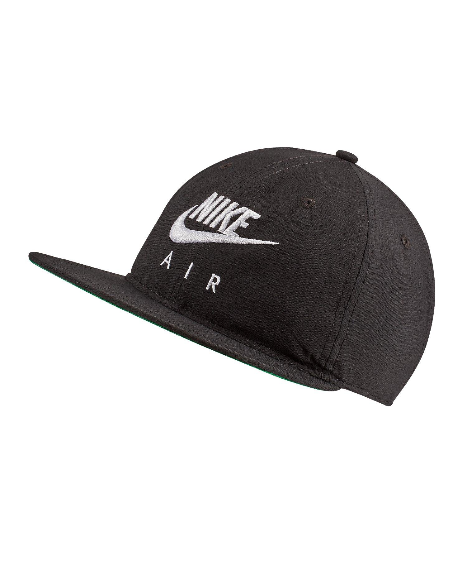Nike Air Pro Snapback Kappe Schwarz F013 - Schwarz