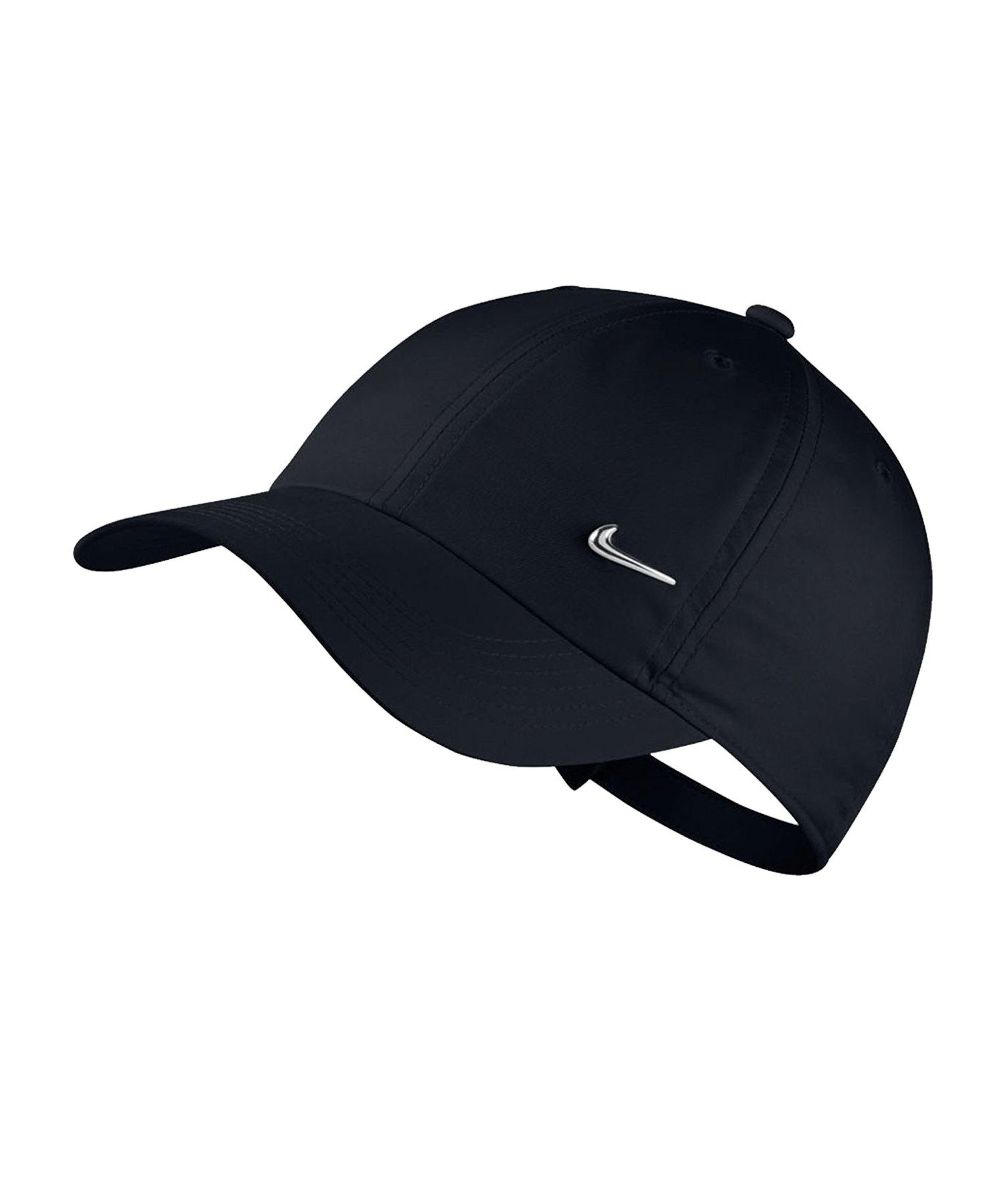 Nike Heritage 86 Adjustable Cap Kids Schwarz F010 - schwarz