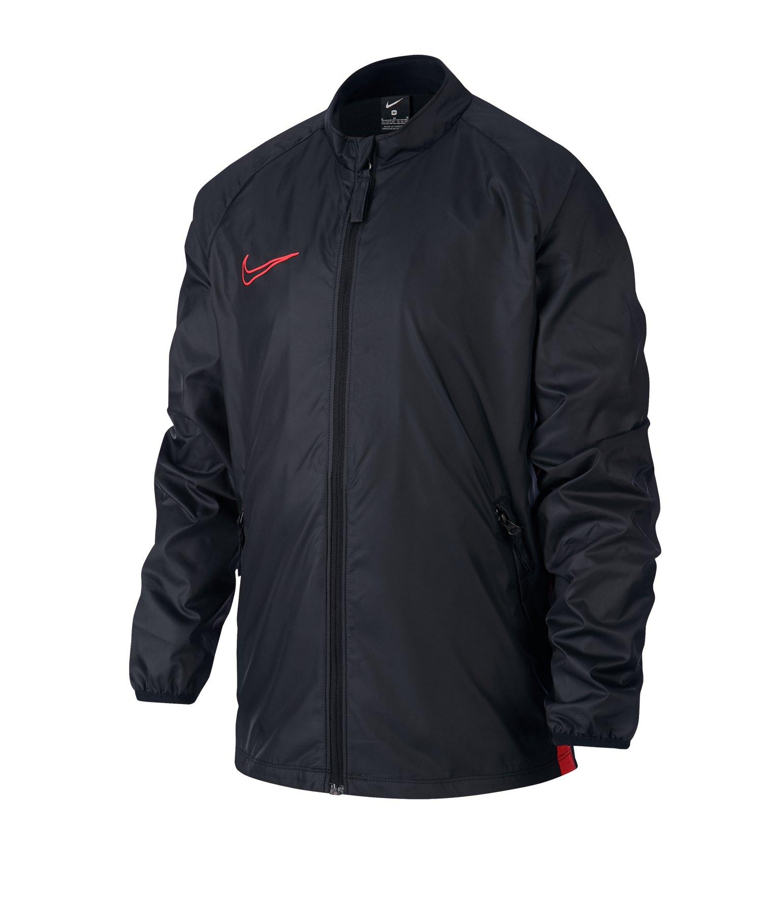 Nike Academy Repel Jacke Kids Schwarz Rot F011 - schwarz