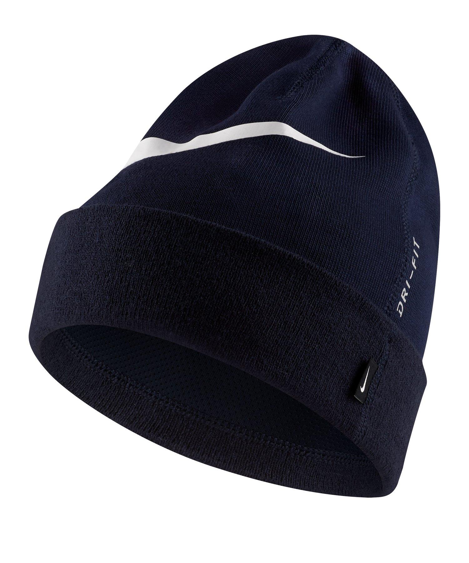 Nike GFA Team Beanie Mütze Blau Weiss F451 - blau