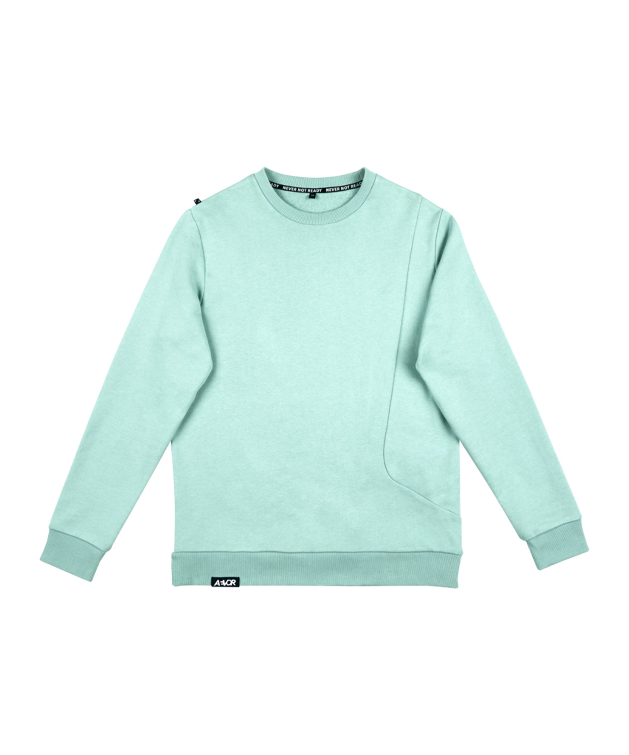 AEVOR Pocket Sweatshirt Blau F20078 - gruen