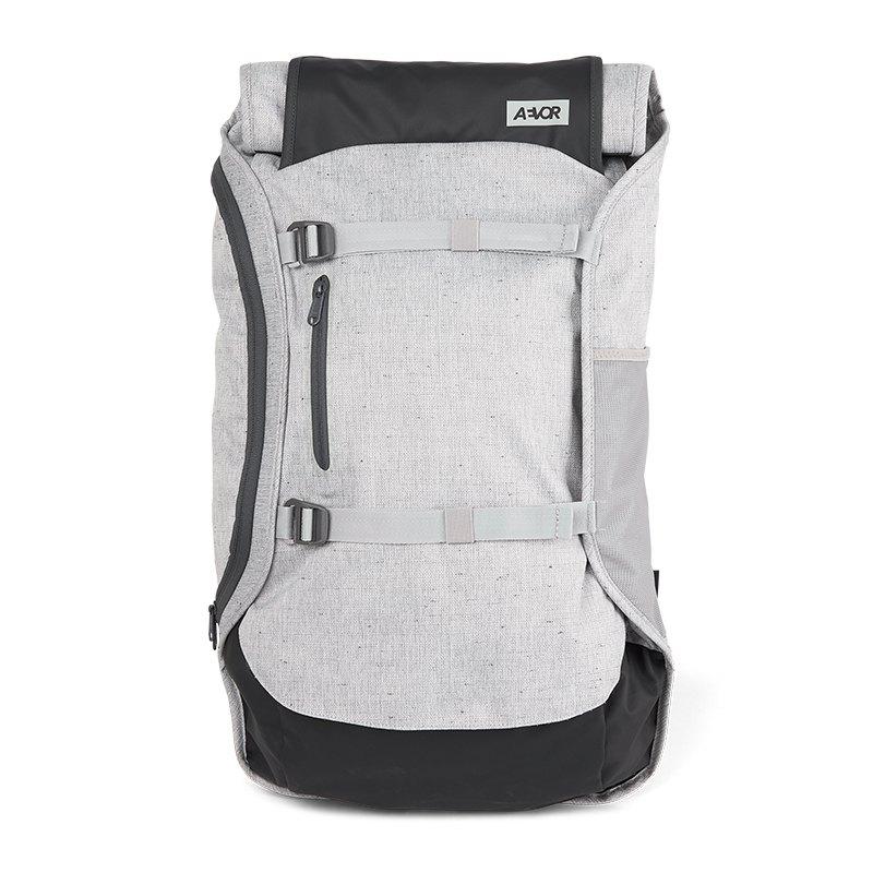 AEVOR Backpack Travel Pack Rucksack Schwarz F861 - grau