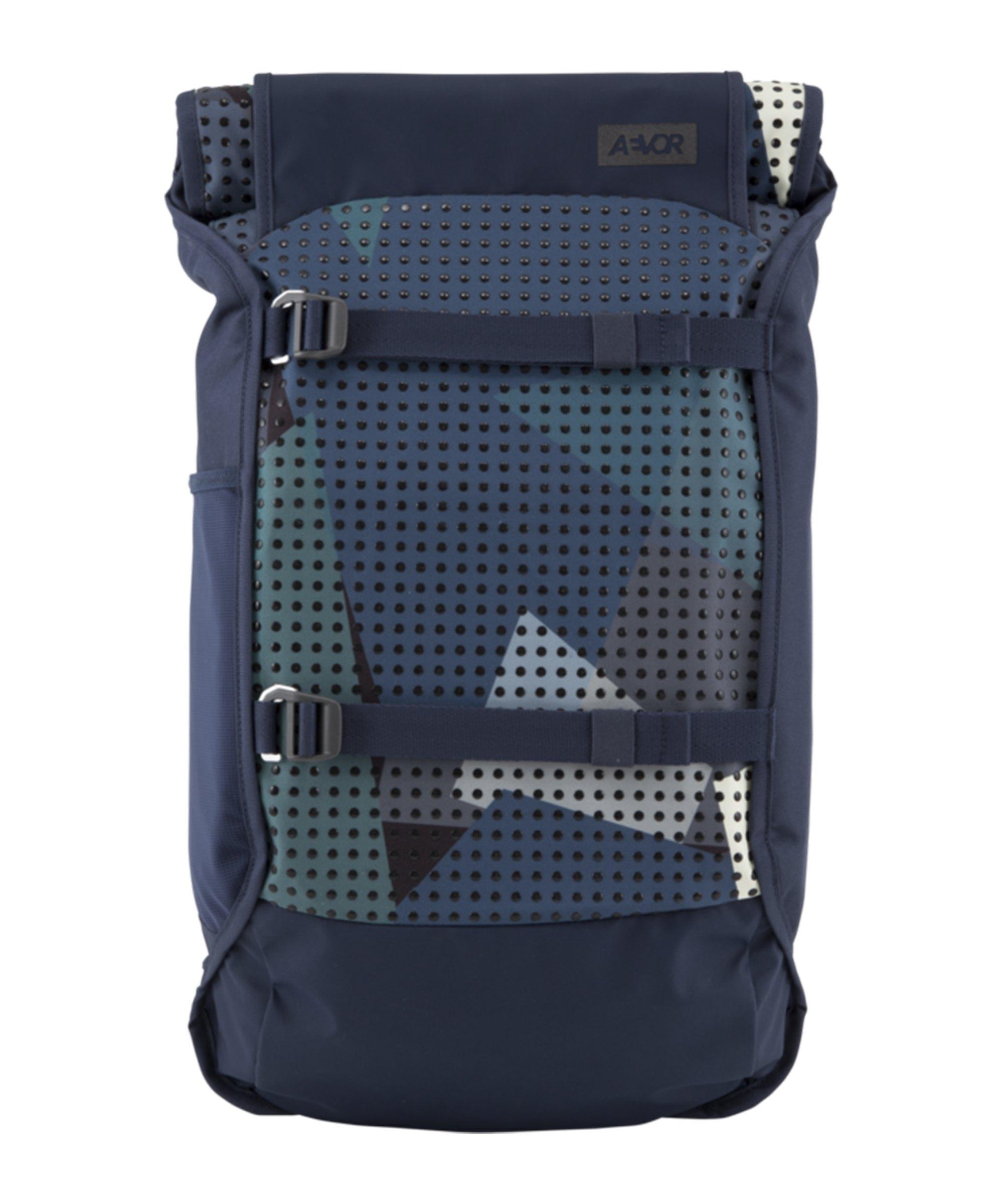 AEVOR Backpack Trip Camo Drop Rucksack Blau F9T7 - blau
