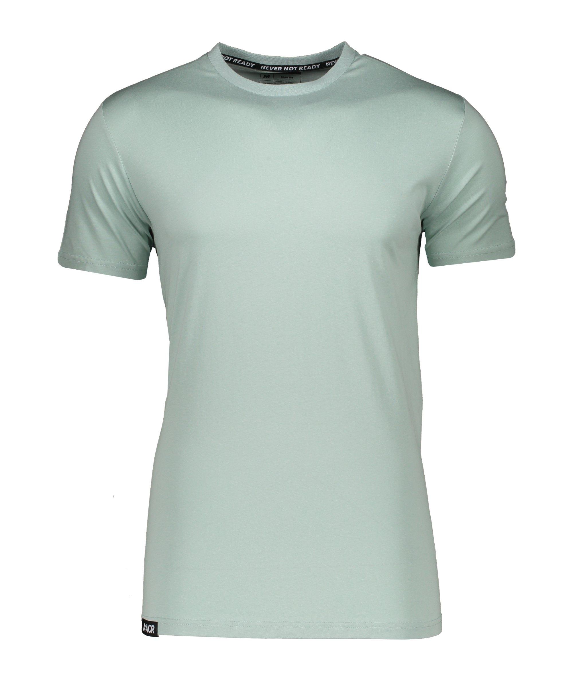AEVOR Base Tee T-Shirt Blau F20078 - blau