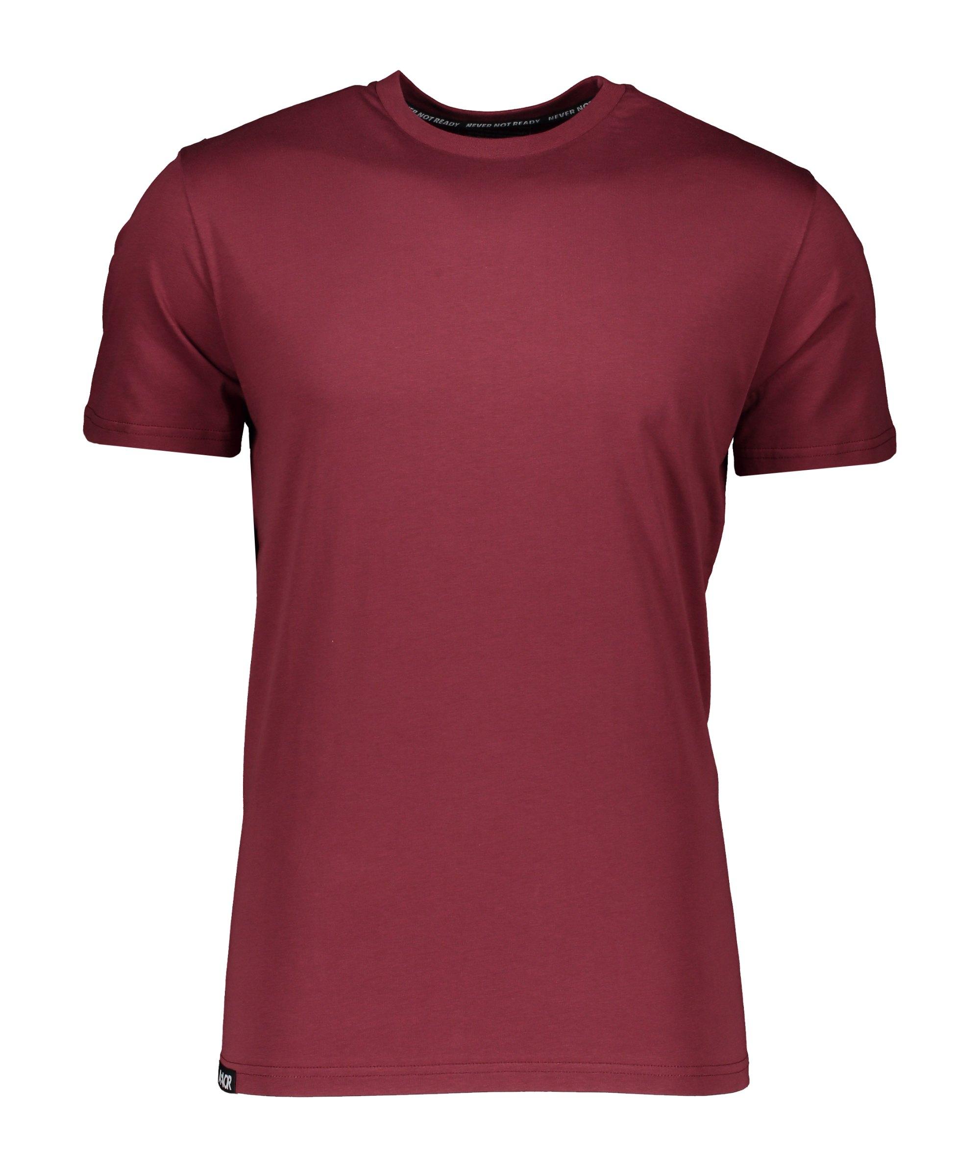AEVOR Base Tee T-Shirt Rot F50077 - rot