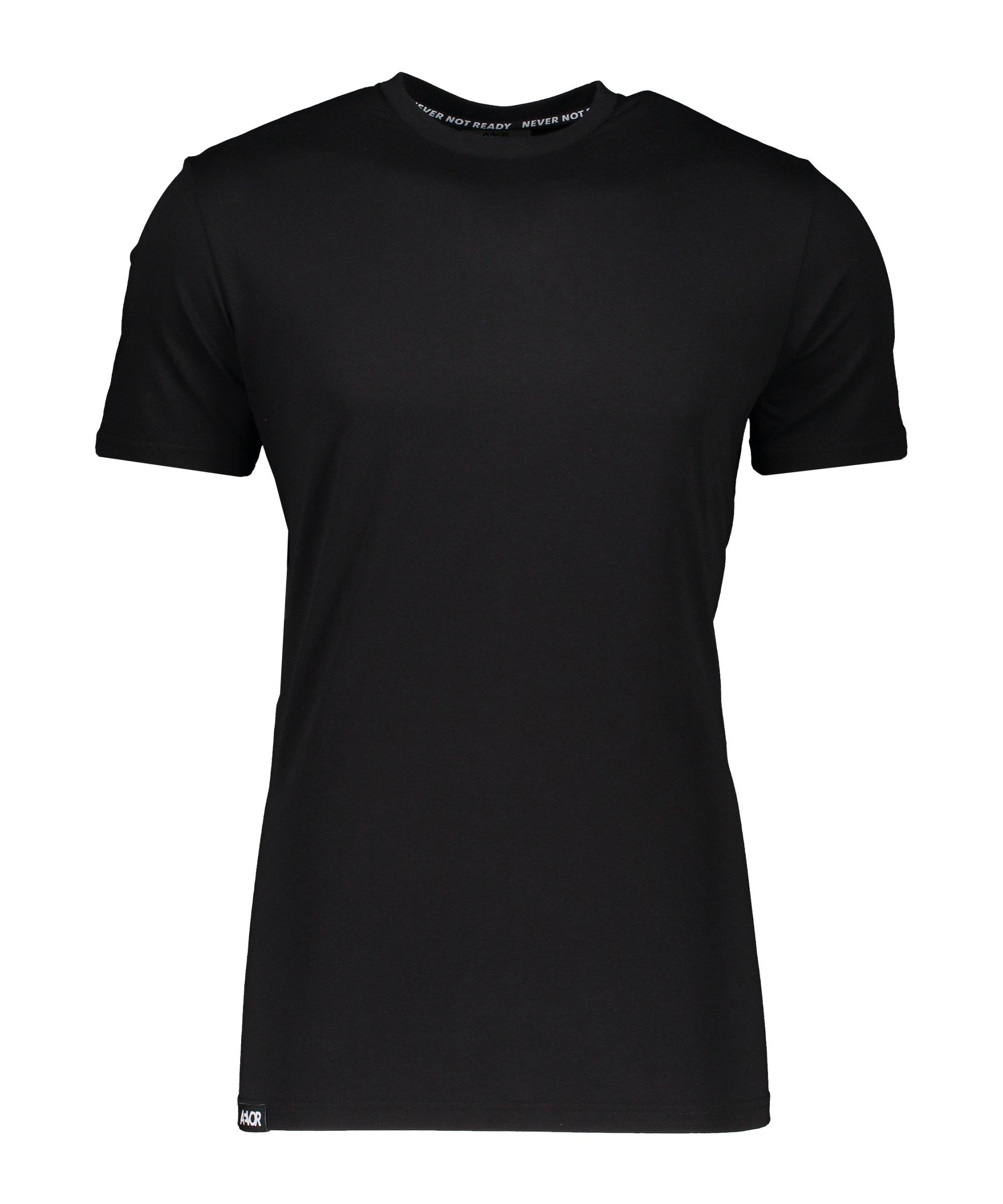 AEVOR Base Tee T-Shirt Schwarz F801 - schwarz