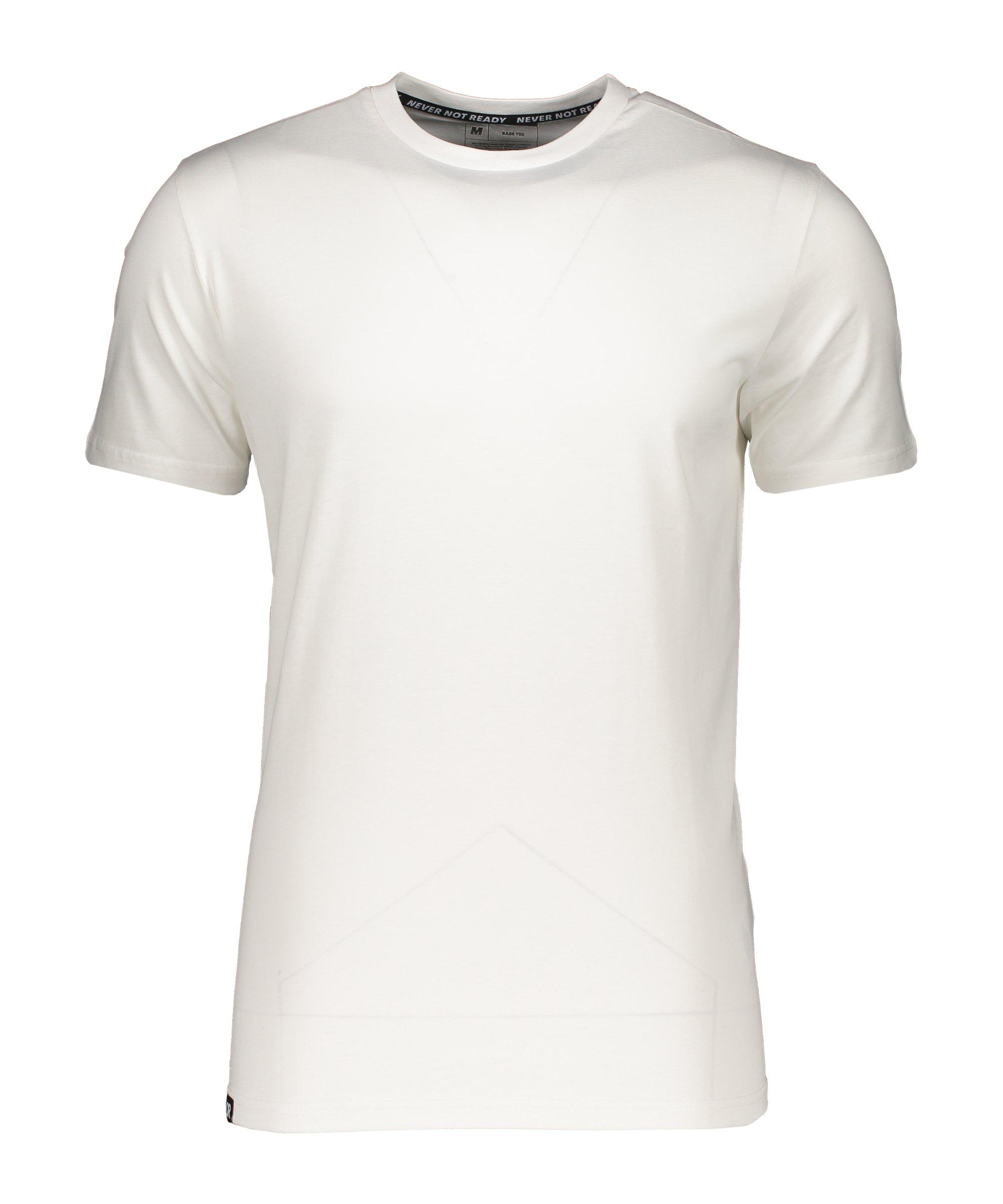 AEVOR Base Tee T-Shirt Weiss F80076 - weiss