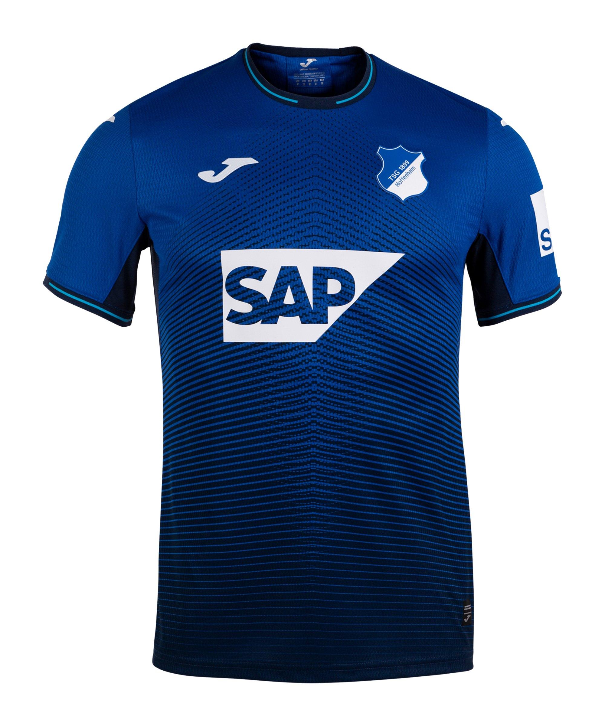 Joma TSG 1899 Hoffenheim Trikot Home 2021/2022 Kids Blau - blau