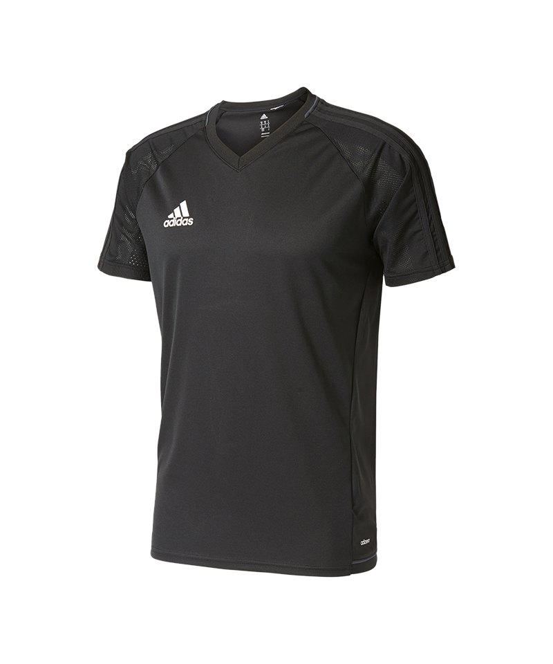 adidas Trainingsshirt Tiro 17 Schwarz - schwarz