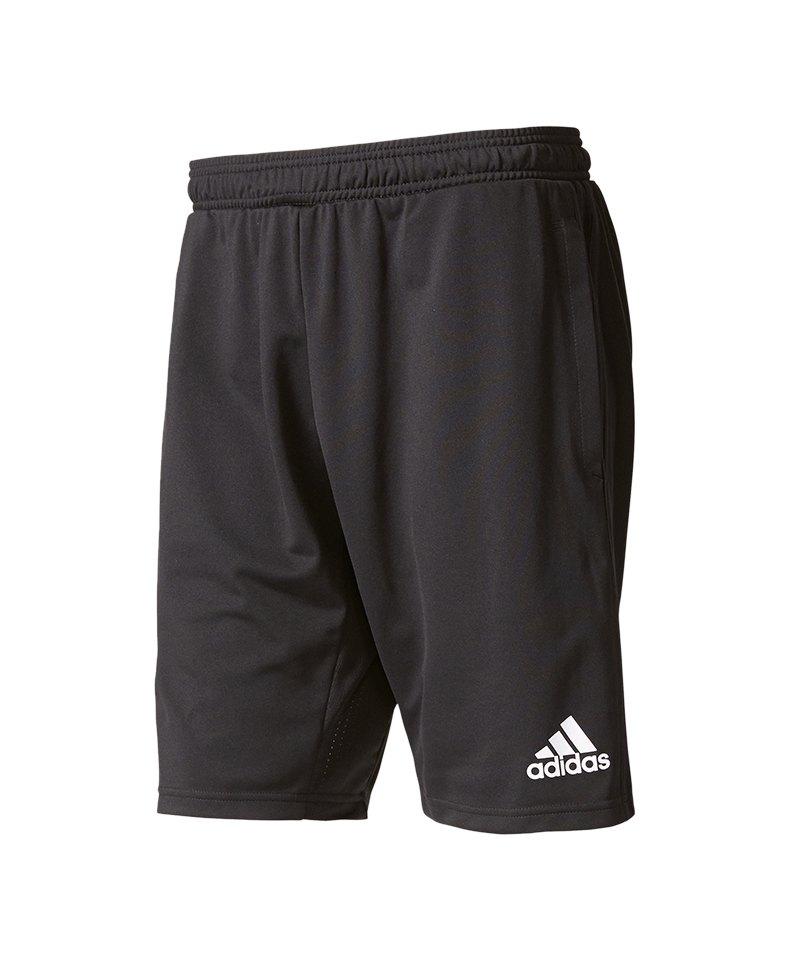 adidas Tiro 17 Training Short Hose kurz Schwarz - schwarz