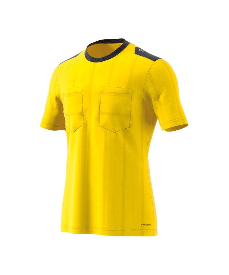 adidas Trikot kurzarm UCL Referee Gelb - gelb