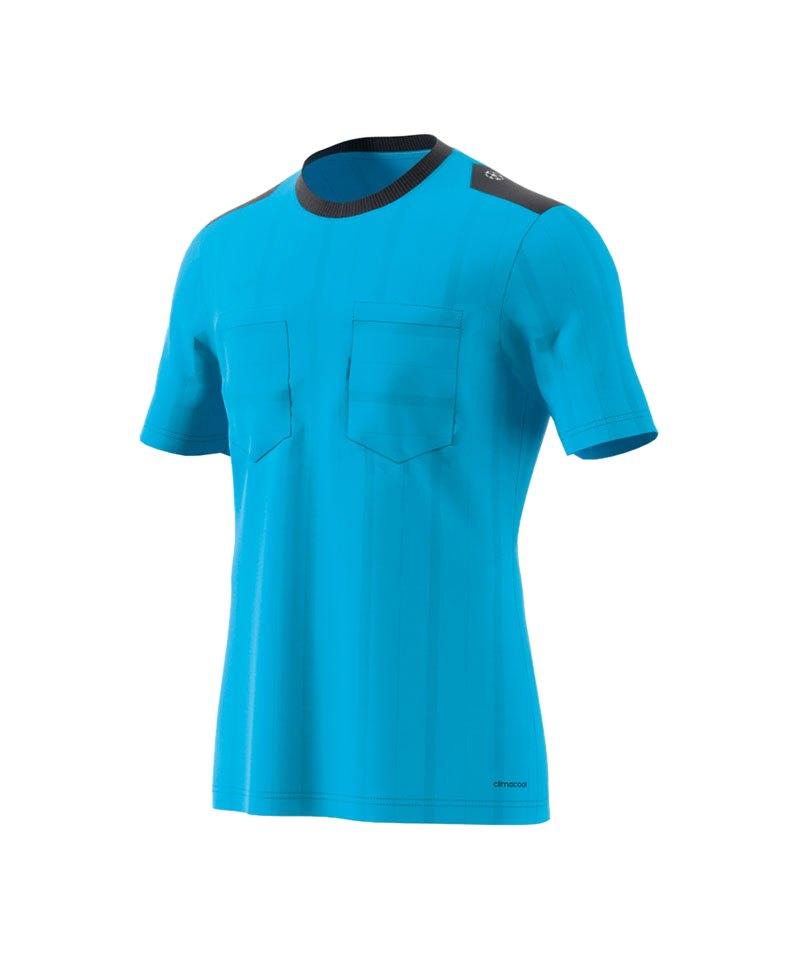 adidas Trikot kurzarm UCL Referee Blau - blau