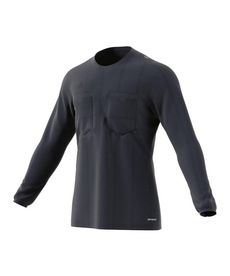 adidas Trikot langarm UCL Referee Dunkelblau - blau