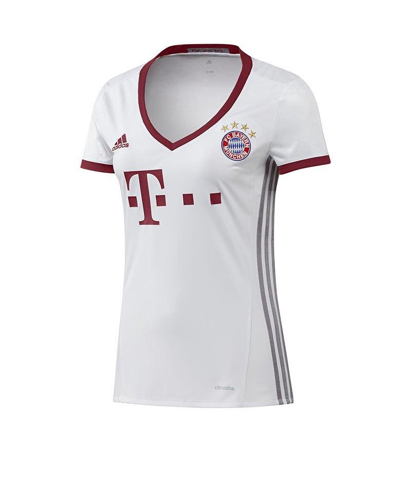 adidas Trikot FC Bayern München UCL Damen 2016/17 - weiss
