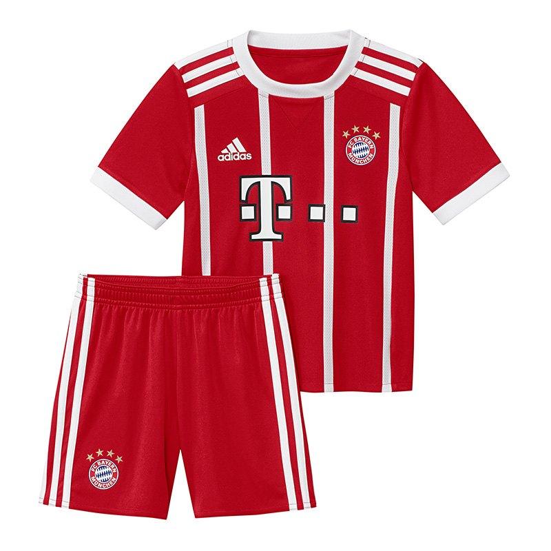 adidas Home Minikit FC Bayern München 2017/2018 - rot