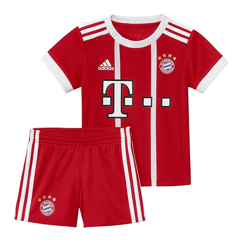 adidas Home Babykit FC Bayern München 2017/2018 - rot