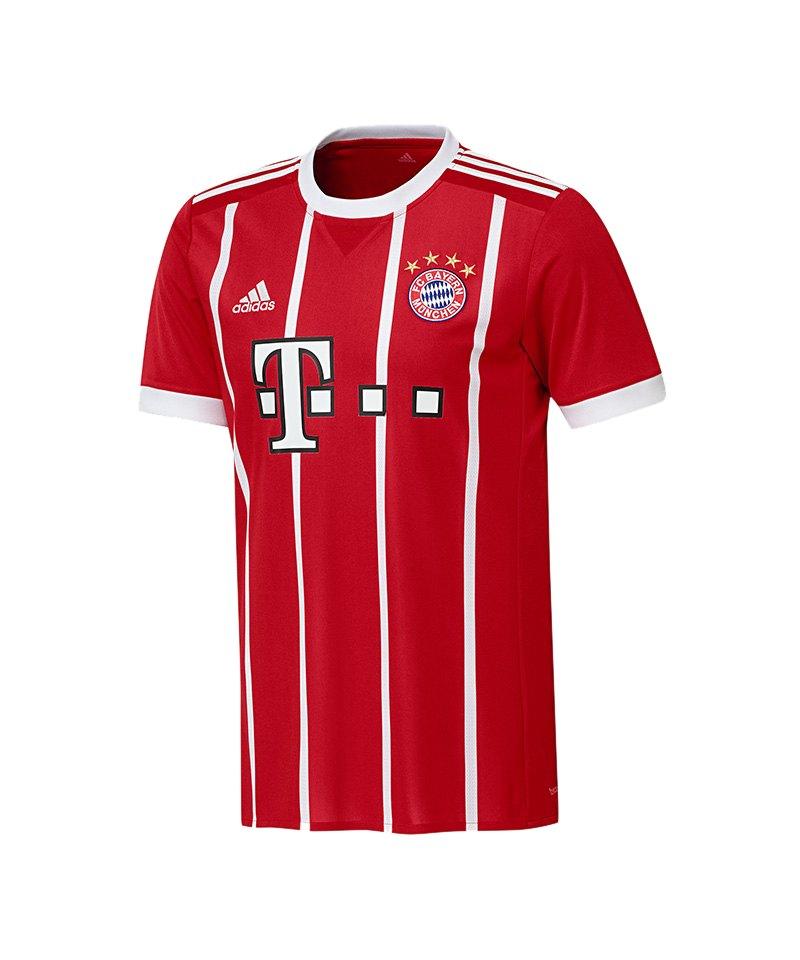 adidas FC Bayern München Trikot UCL Kids 2017/2018 - weiss