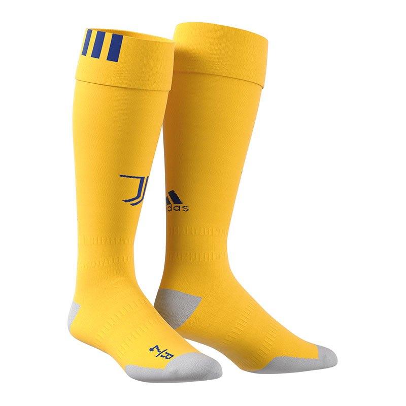 adidas Stutzen Away 2017/2018 FC Juventus Turin - gelb
