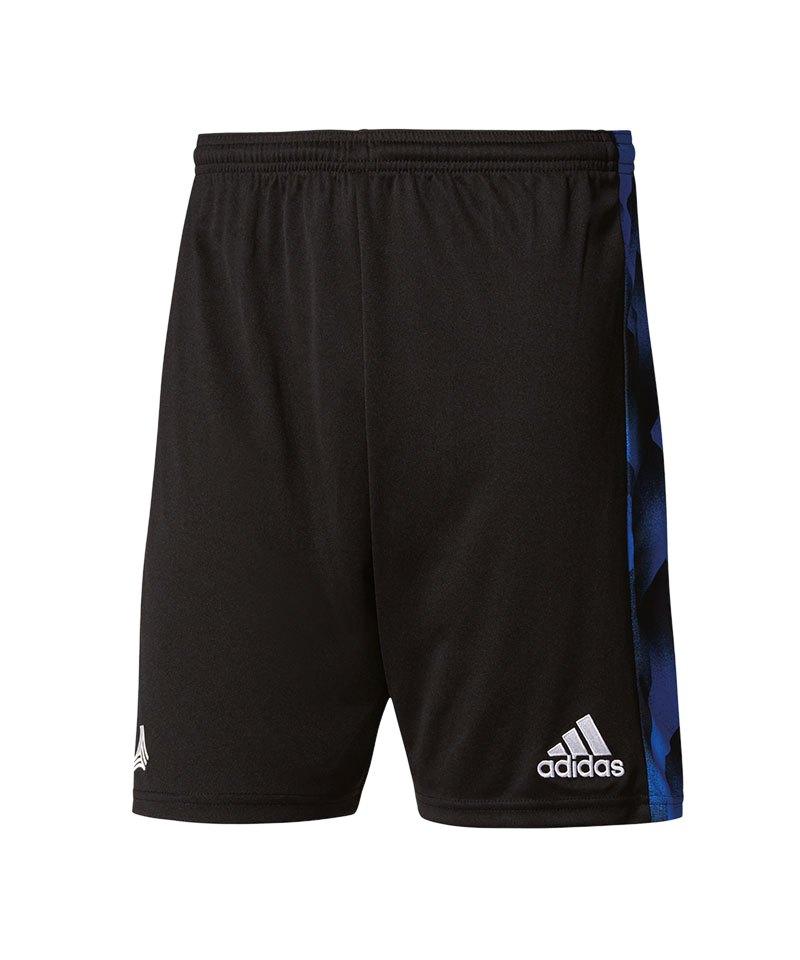 adidas Hose kurz Tanc Short Schwarz Blau - schwarz