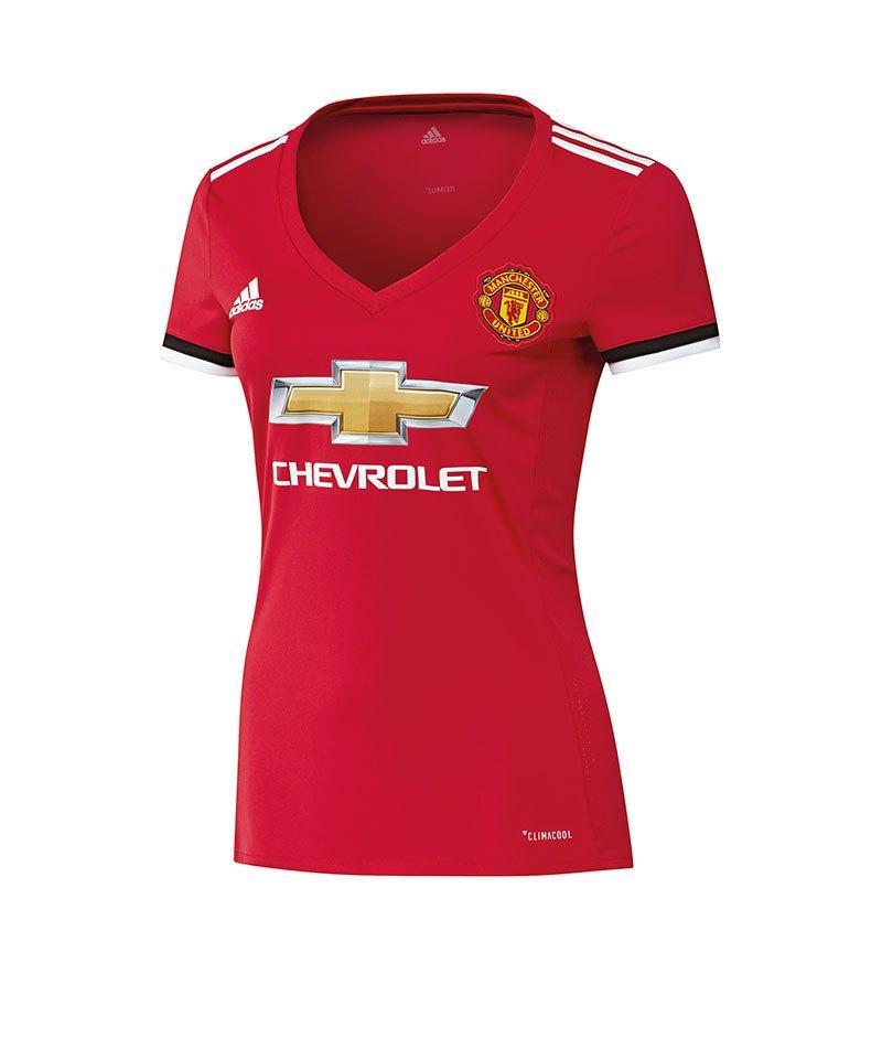 adidas Trikot Home Manchester United Damen 17/18 - rot