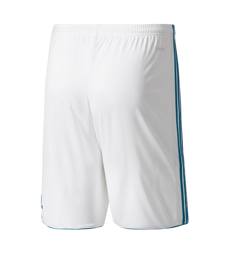 buy online factory outlets best sell adidas Short Home Real Madrid Kinder 17/18 Weiss