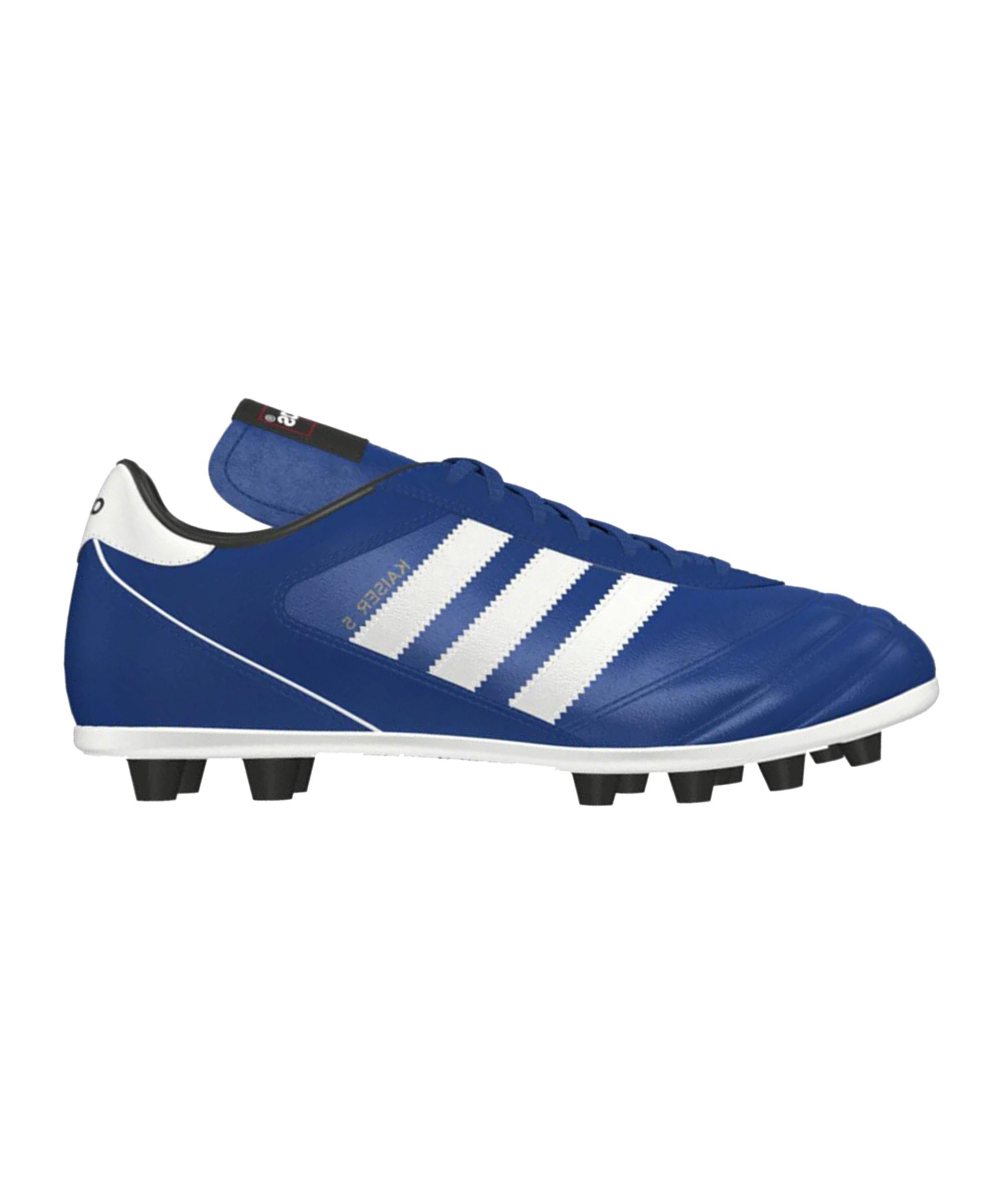 adidas FG Kaiser 5 Liga Blau Weiss - blau