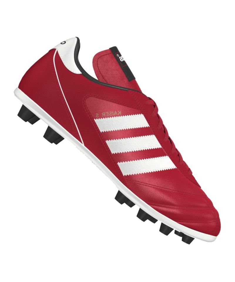adidas Kaiser 5 Liga FG Rot Weiss - rot