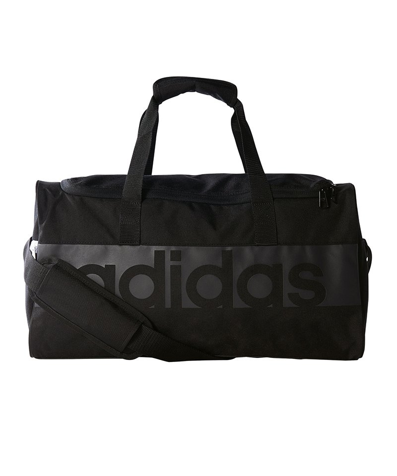 adidas Teambag Tiro Linear Gr. S Schwarz Grau - schwarz