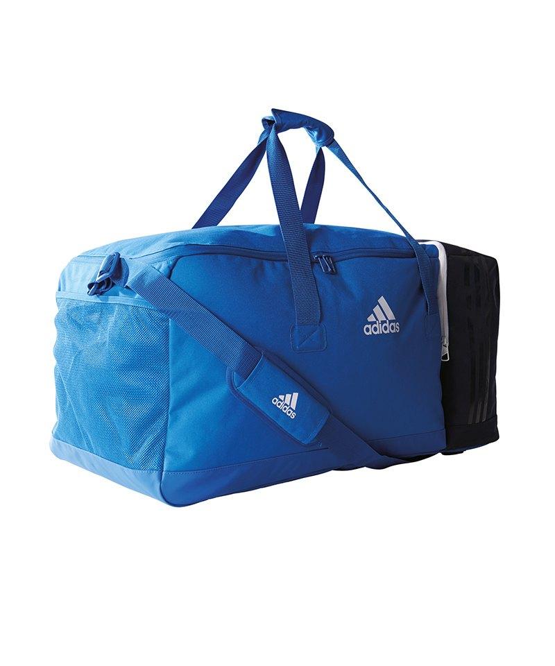 adidas Tiro Teambag Gr. M Blau Weiss - blau