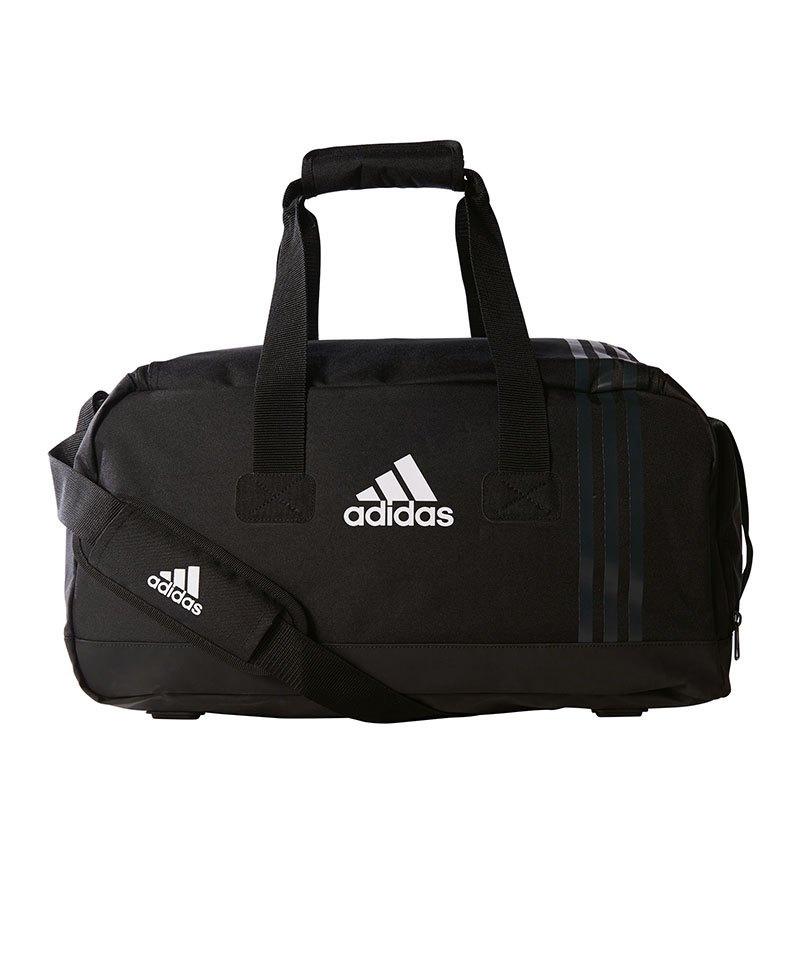 adidas Tiro Teambag Gr. S Schwarz Grau Weiss - schwarz