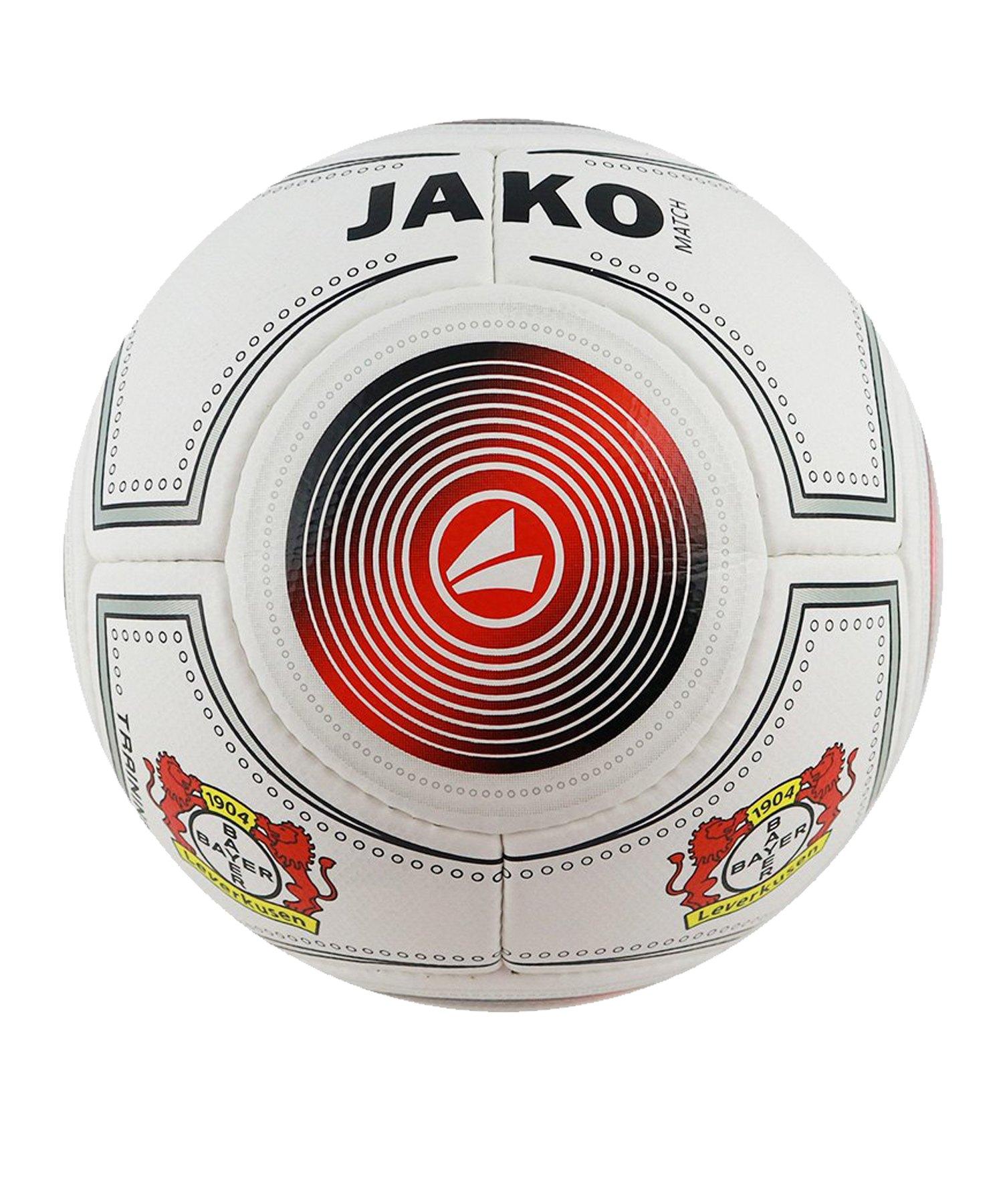 Jako Bayer 04 Leverkusen Fanball Rot Schwarz F04 - rot