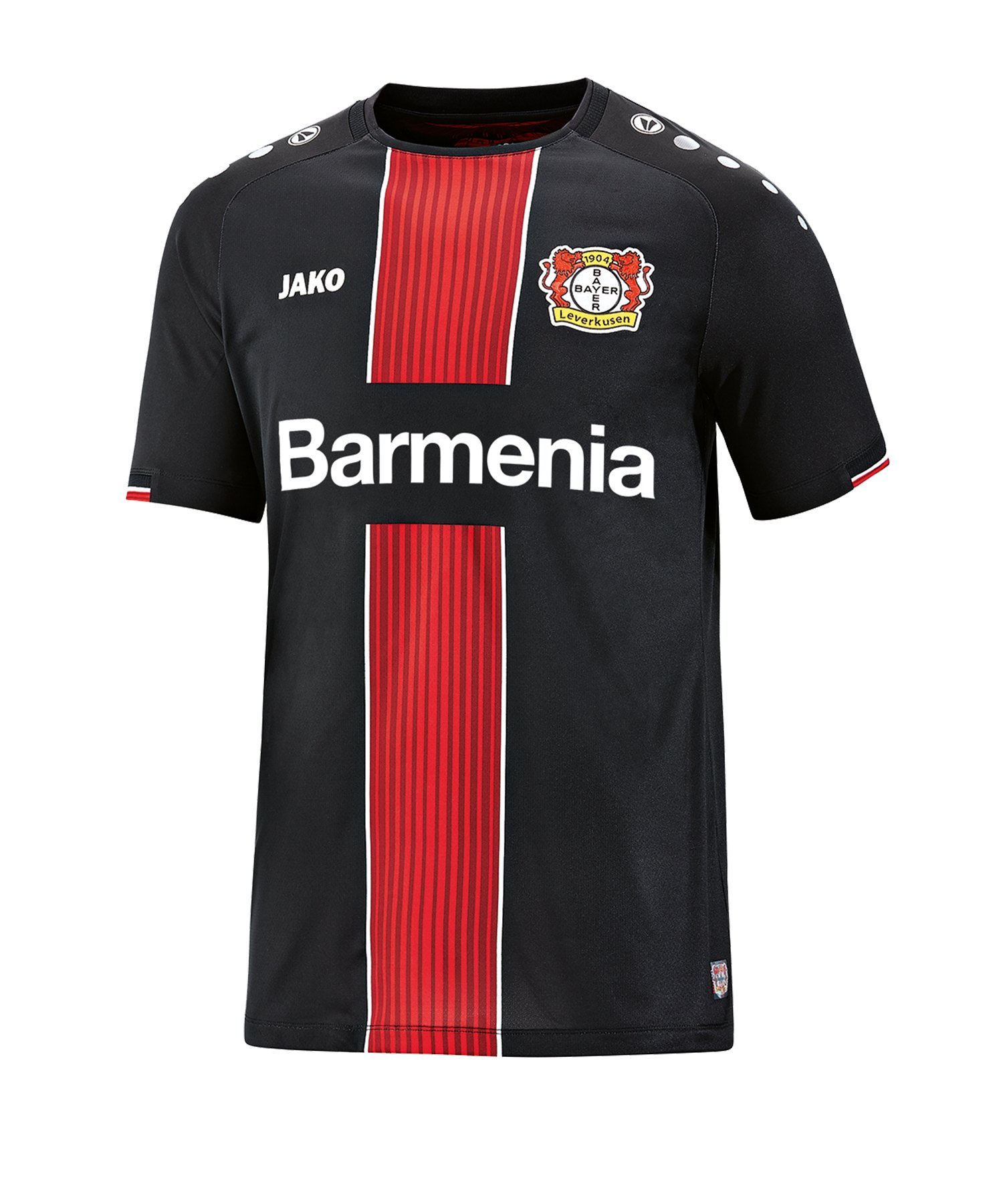 Jako Bayer 04 Leverkusen Trikot Away Kids 2019/ 2020 Schwarz F08 - schwarz