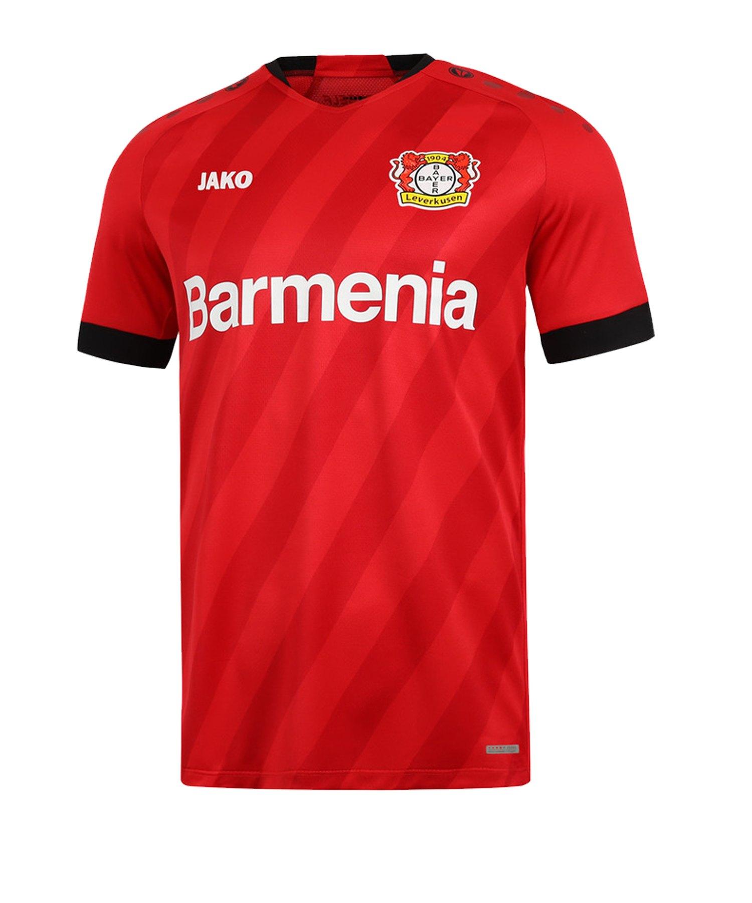 Jako Bayer 04 Leverkusen Trikot Home 2019/2020 Rot F01 - rot
