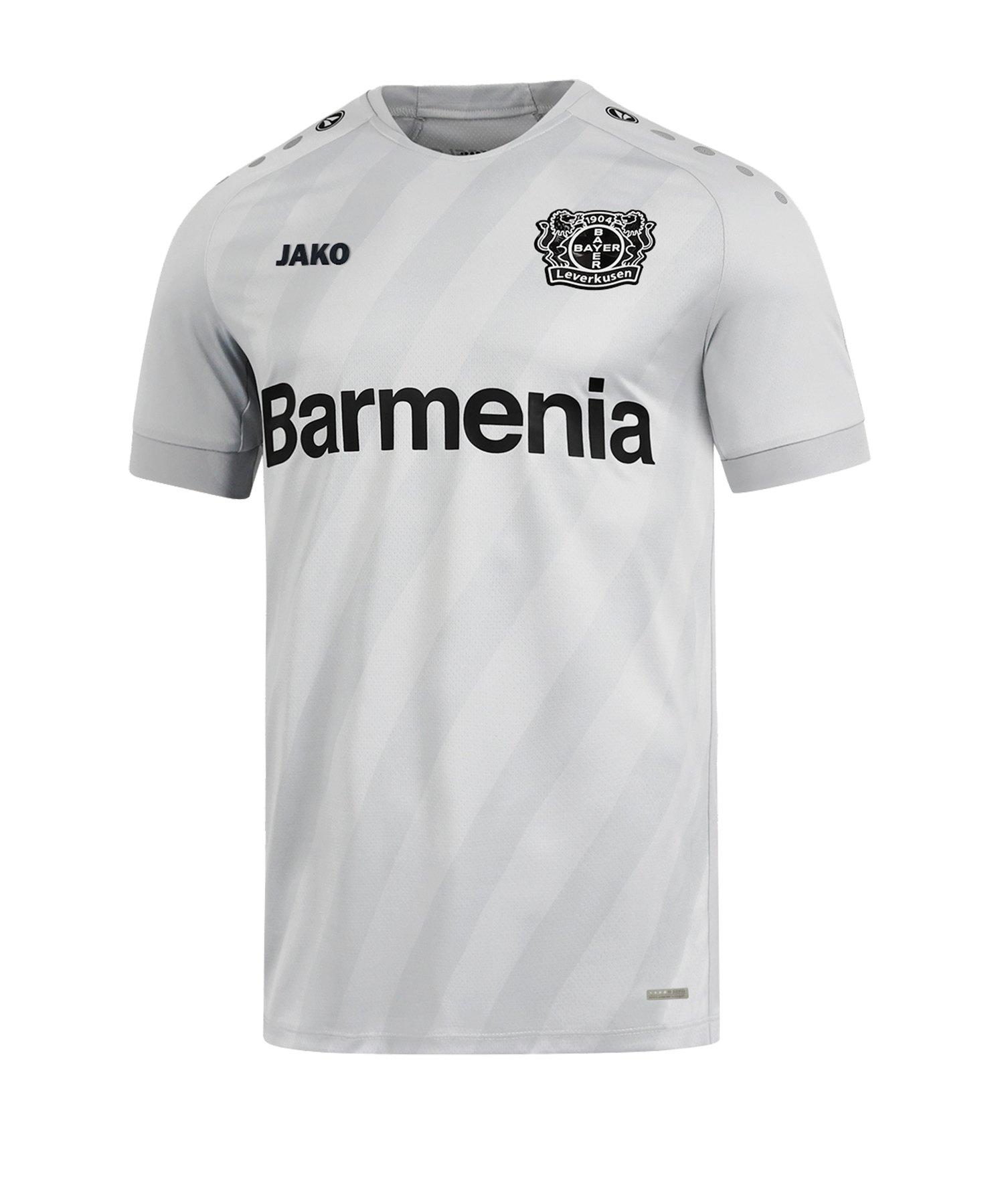 Jako Bayer 04 Leverkusen Trikot UCL 2019/2020 F40 - grau