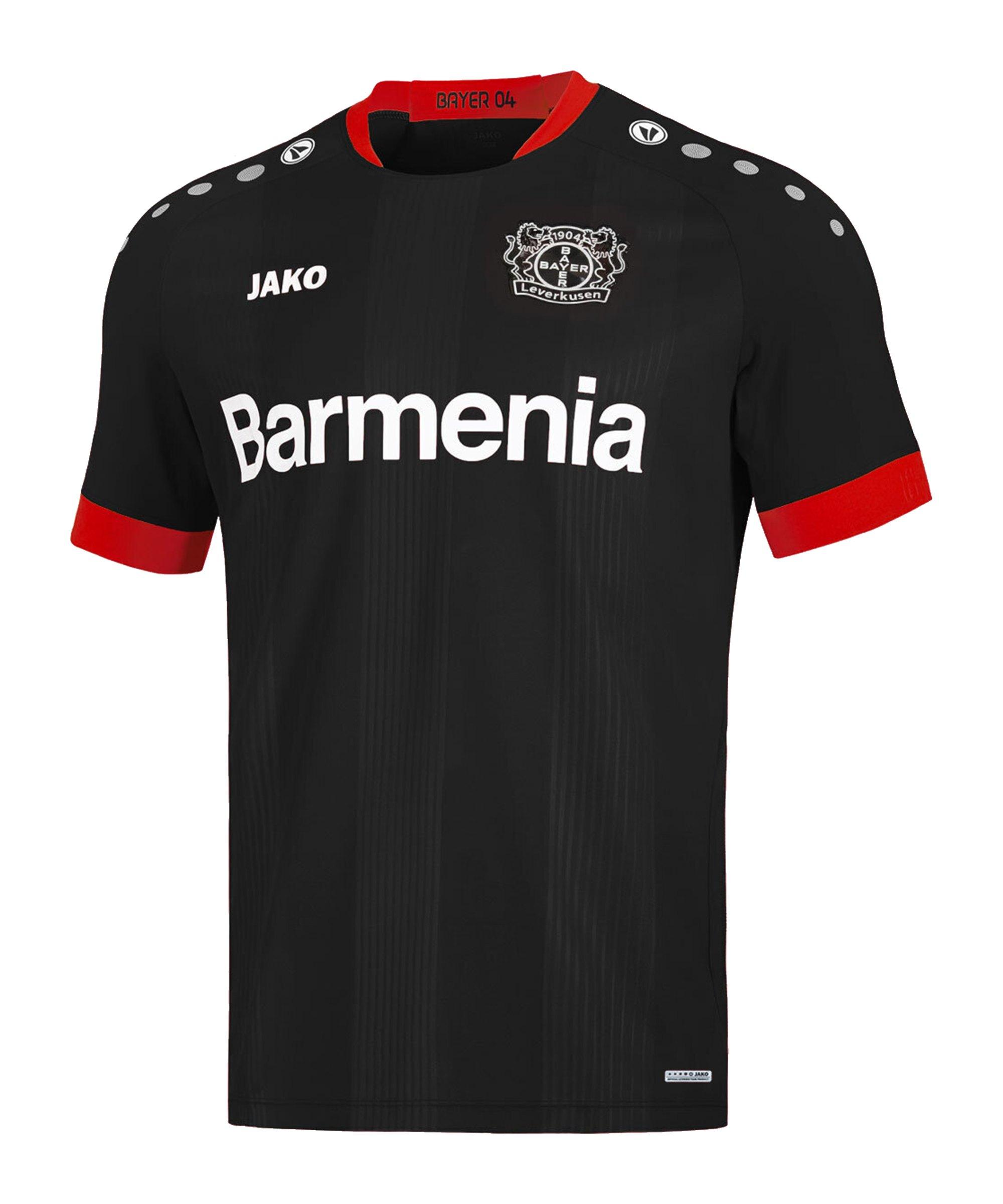 JAKO Bayer 04 Leverkusen Trikot Home 2020/2021 Kids Schwarz F08 - schwarz