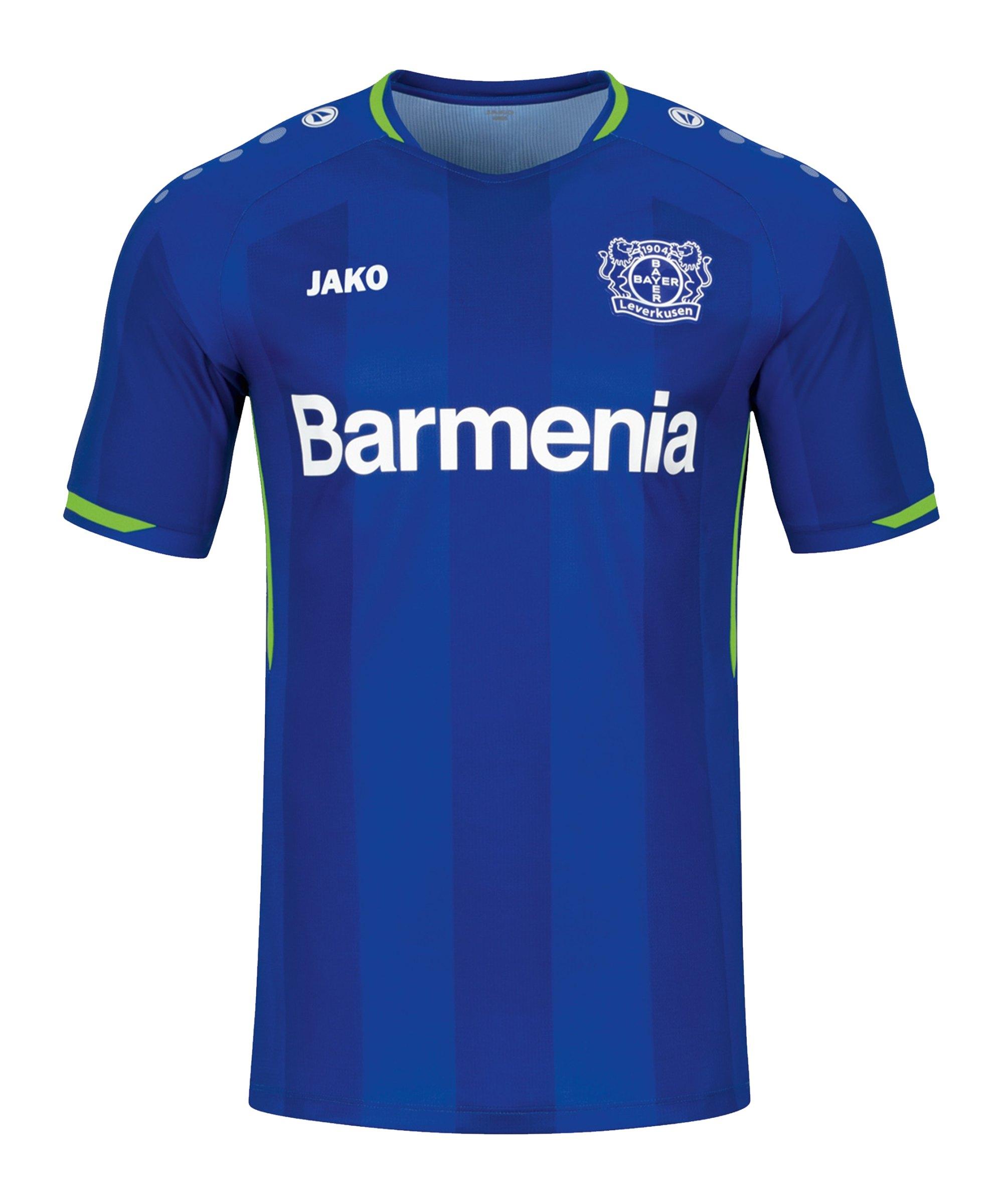 JAKO Bayer 04 Leverkusen Trikot 3rd 2021/2022 Kids Blau F641 - blau
