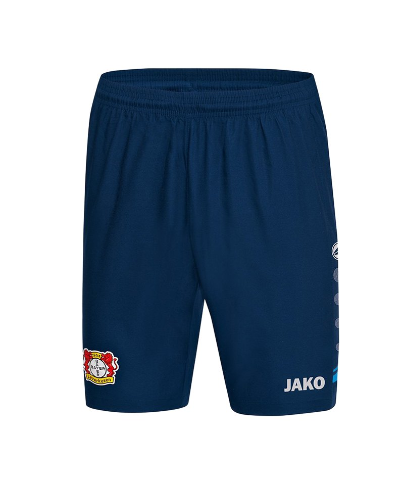 Jako Bayer 04 Leverkusen Short Away 2018/2019 Kids Blau F09 - blau