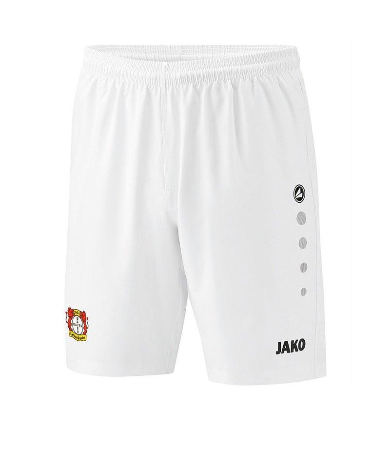 Jako Bayer 04 Leverkusen Short 3rd 2018/2019 F00 - weiss