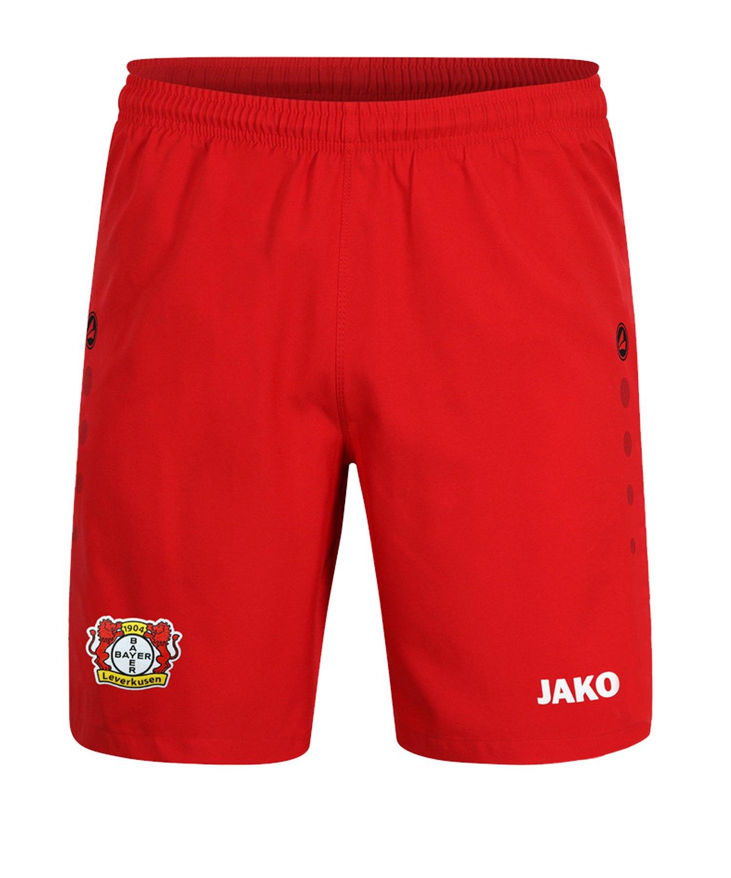 Jako Bayer 04 Leverkusen Short Home 2019/2020 Rot F01 - rot